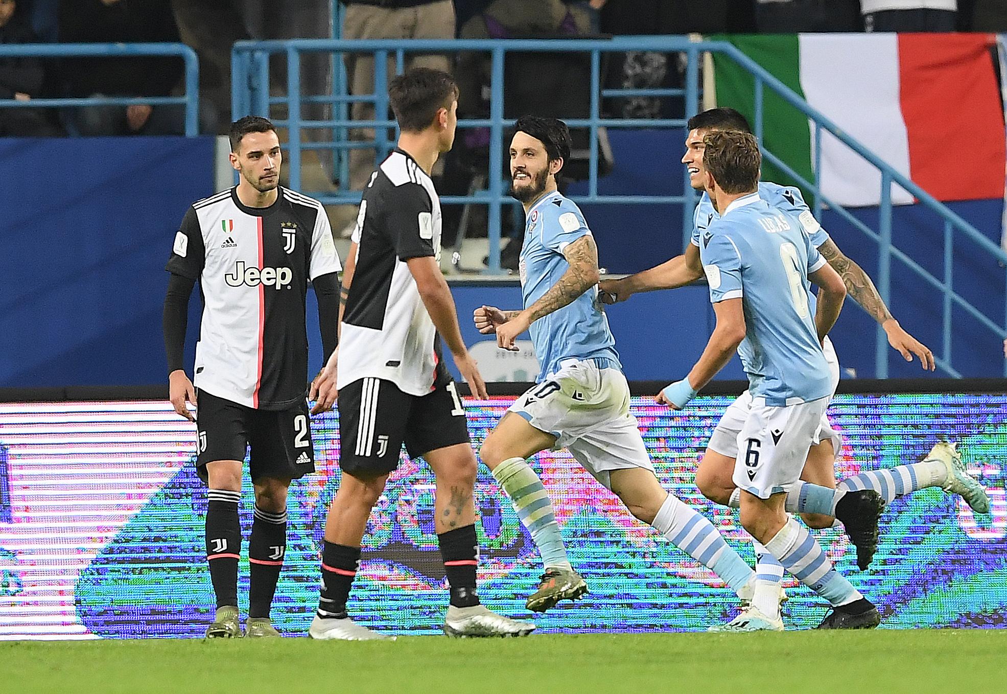 La Lazio s'adjuge la Supercoupe d'Italie aux dépens de la Juventus