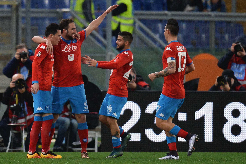 Football - Etranger - Les 4 fantastiques de Naples à l'assaut du Juventus Stadium