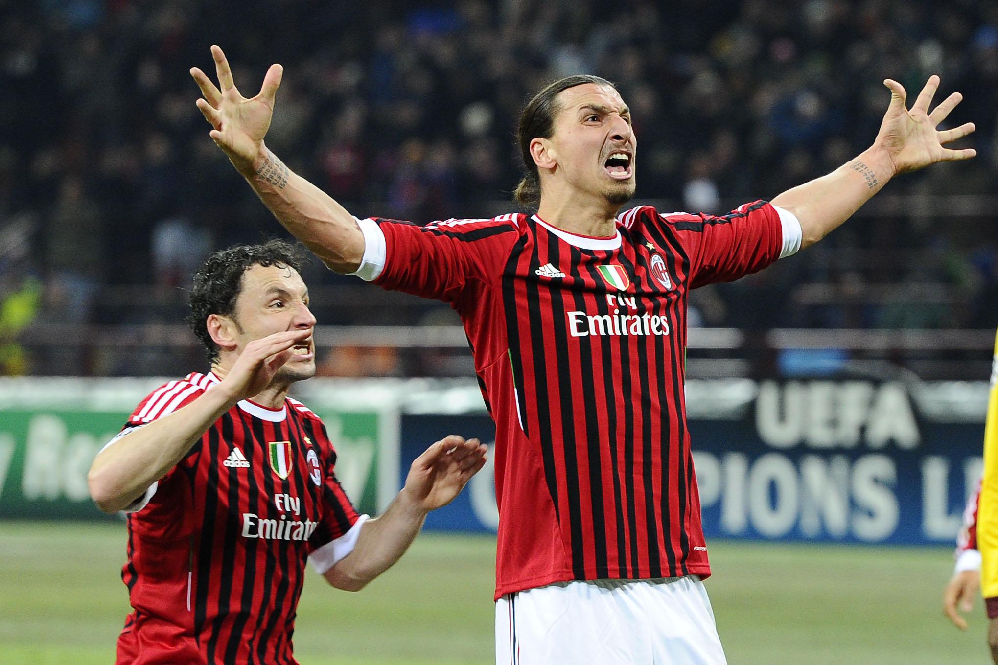 Football - Etranger - Les plus beaux buts d'Ibrahimovic avec l'AC Milan