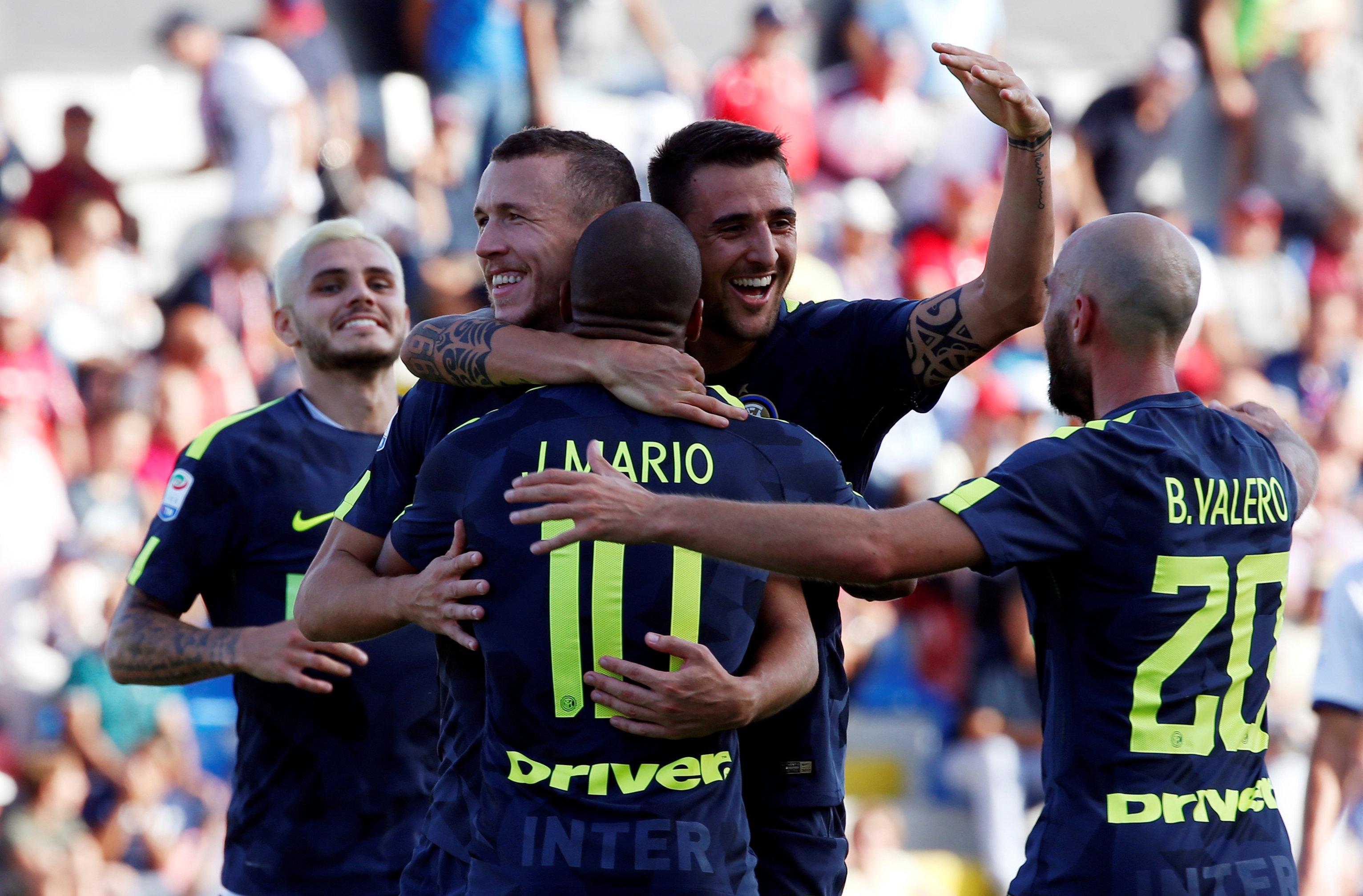 Football - Etranger - Quatre à la suite pour l'Inter Milan, la Roma s'éveille