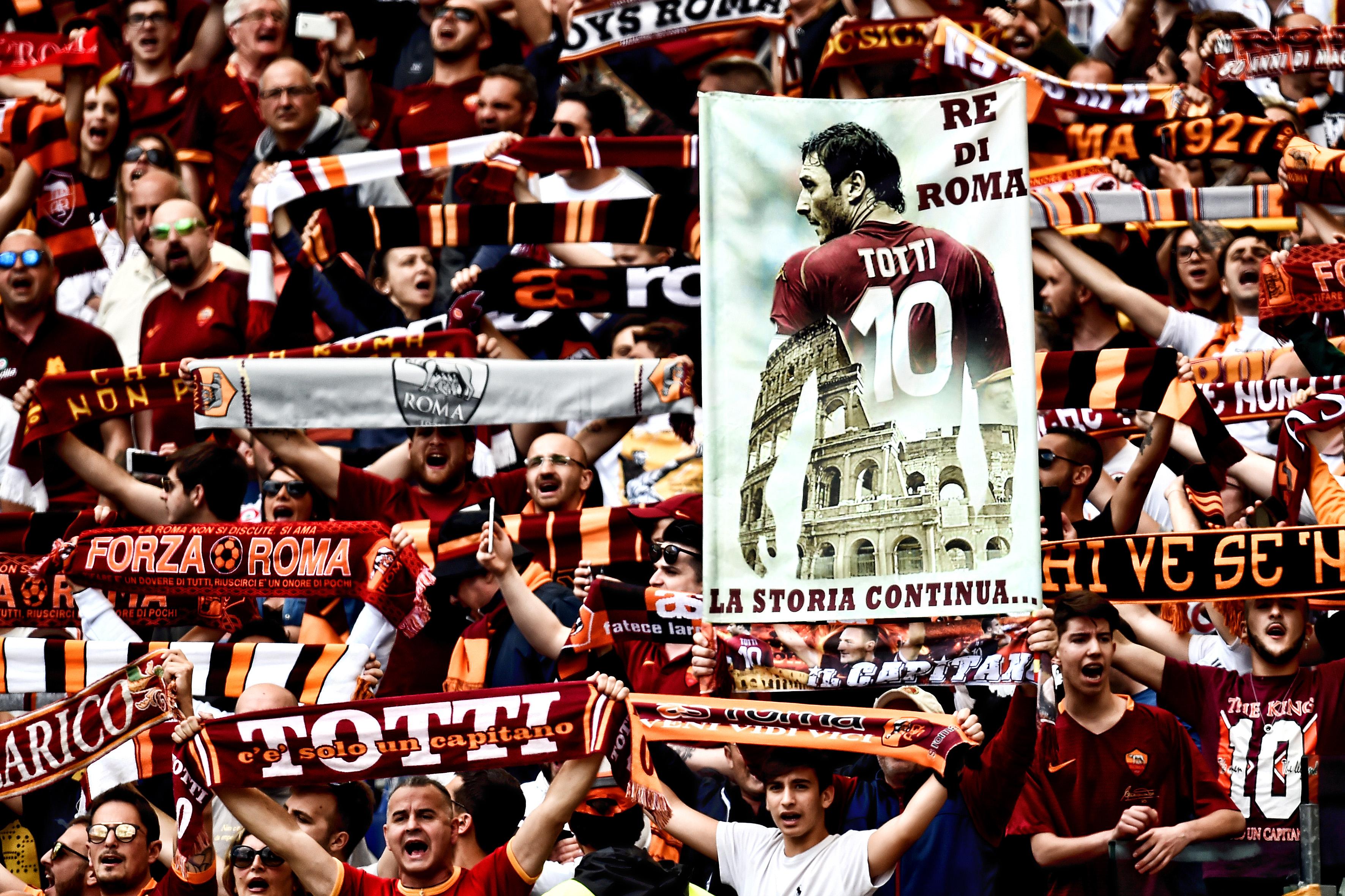 Football - Etranger - Totti le magnifique tire sa révérence