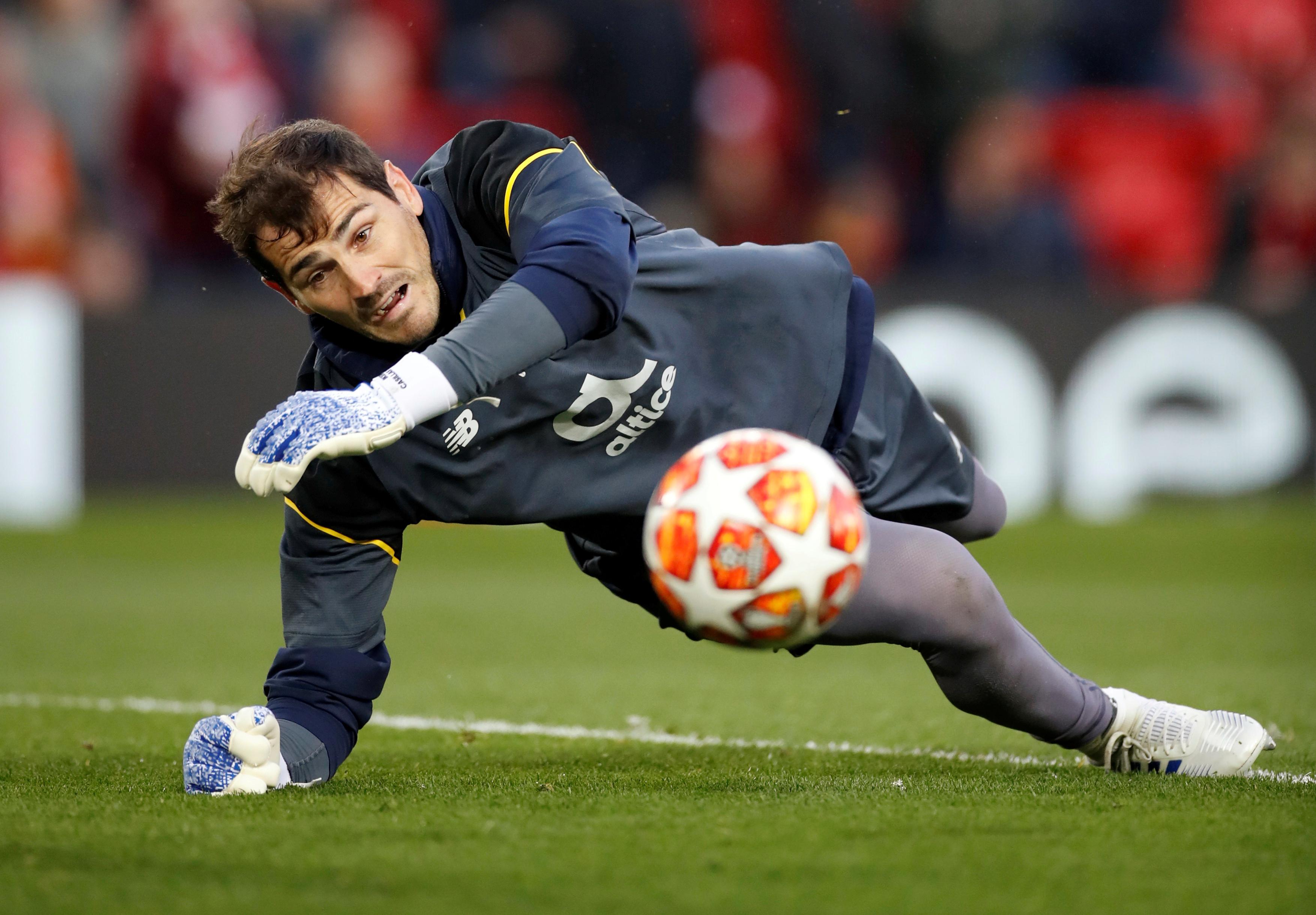 Football - Etranger - Victime d'un infarctus, Casillas pourrait sortir lundi de l'hôpital