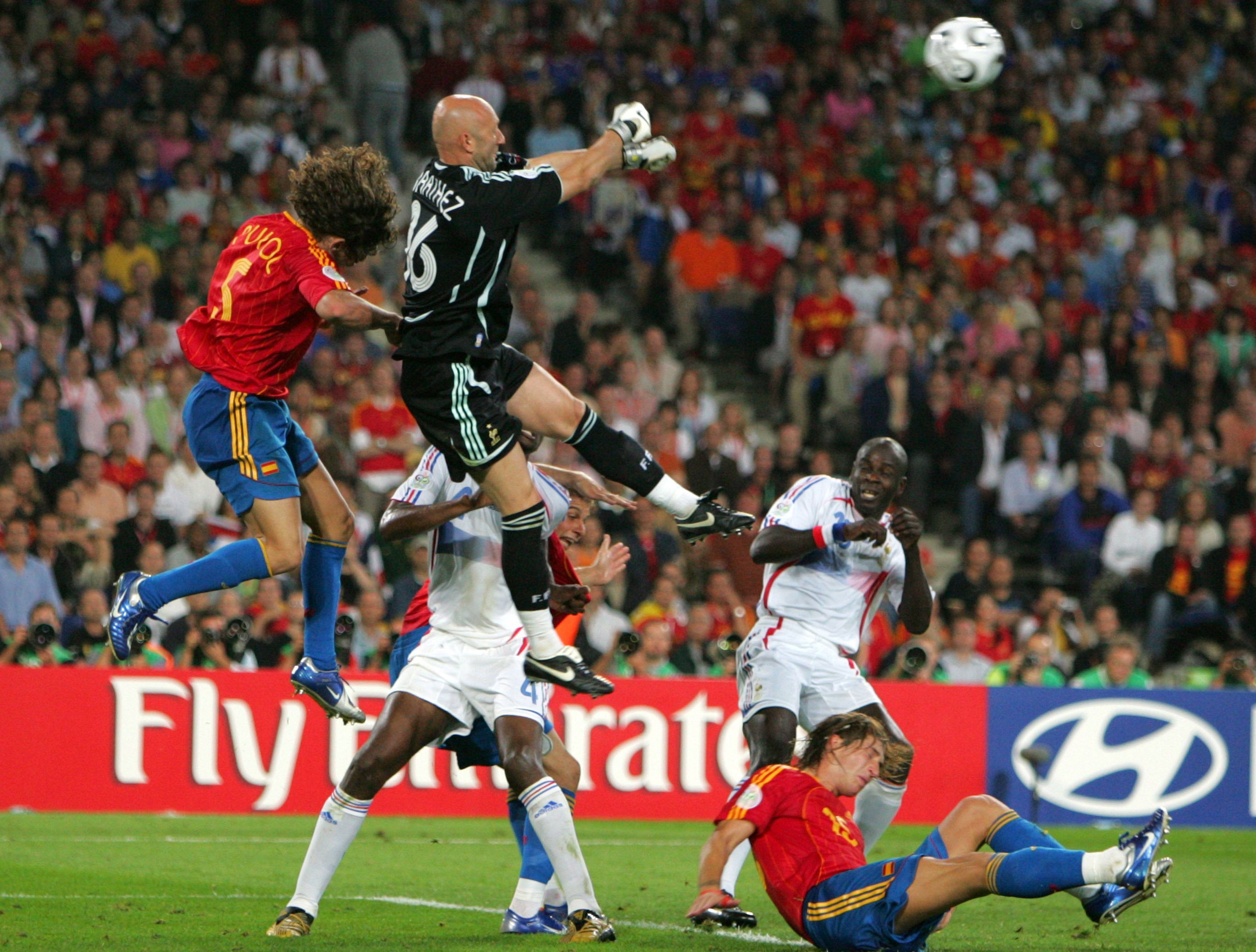 Les confrontations france espagne en images euro 2012 football - Hymne coupe du monde 2006 ...