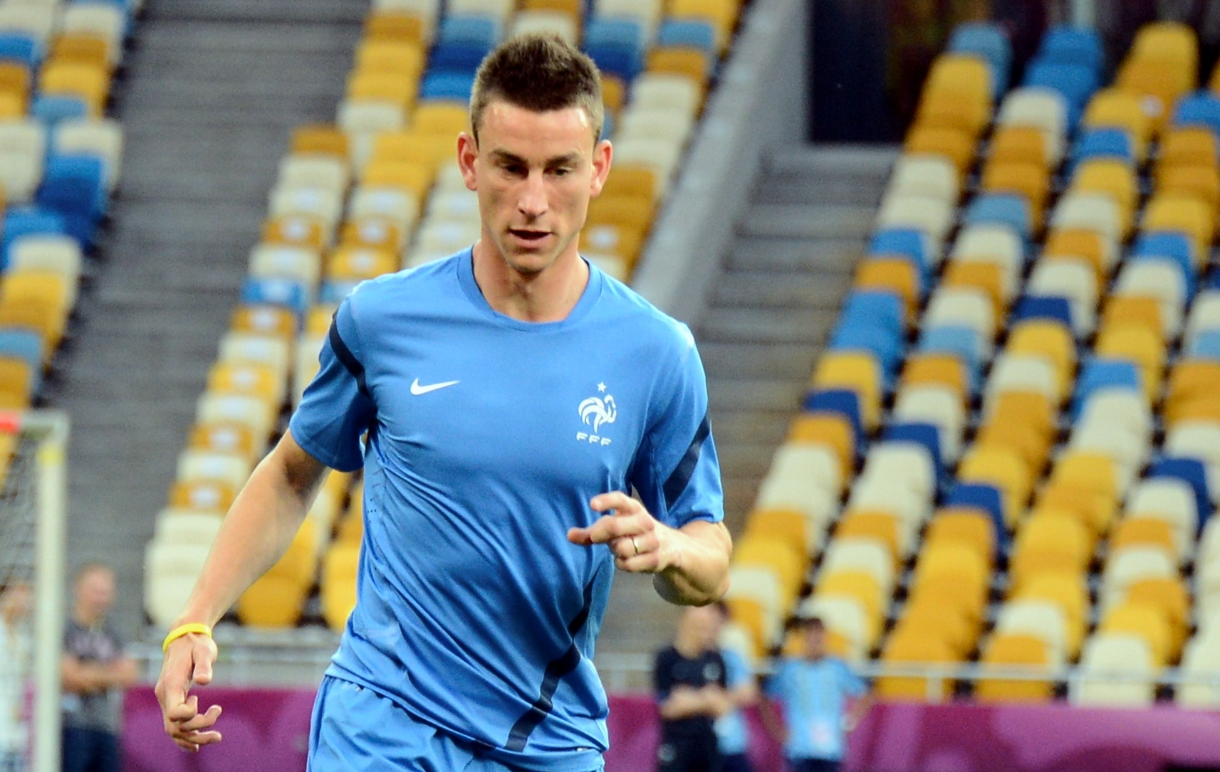 koscielny l assurance tous risques equipe de france euro 2012 football. Black Bedroom Furniture Sets. Home Design Ideas