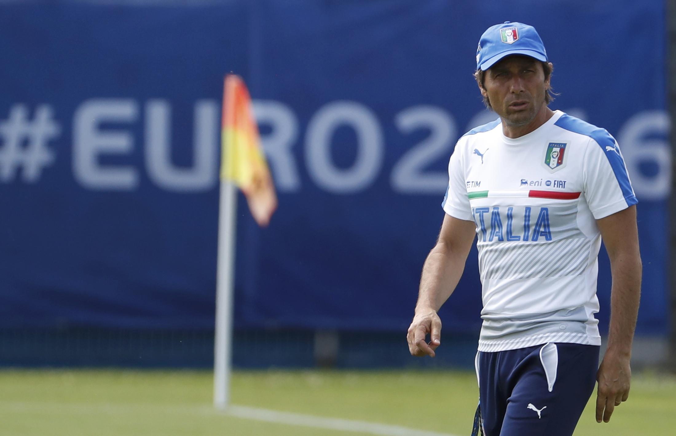 Football - Euro 2016 - Conte, la vraie star de l'équipe d'Italie