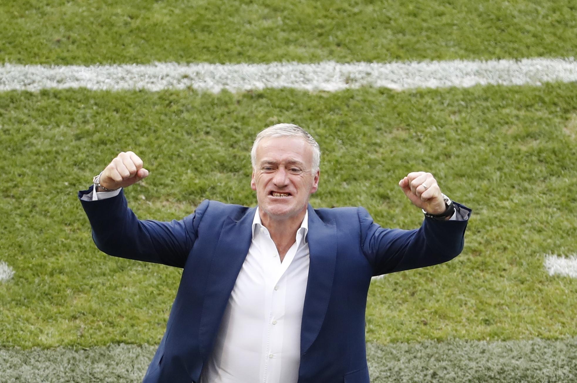 Football - Euro 2016 - Deschamps: «Cette équipe a tout pour être aimée»
