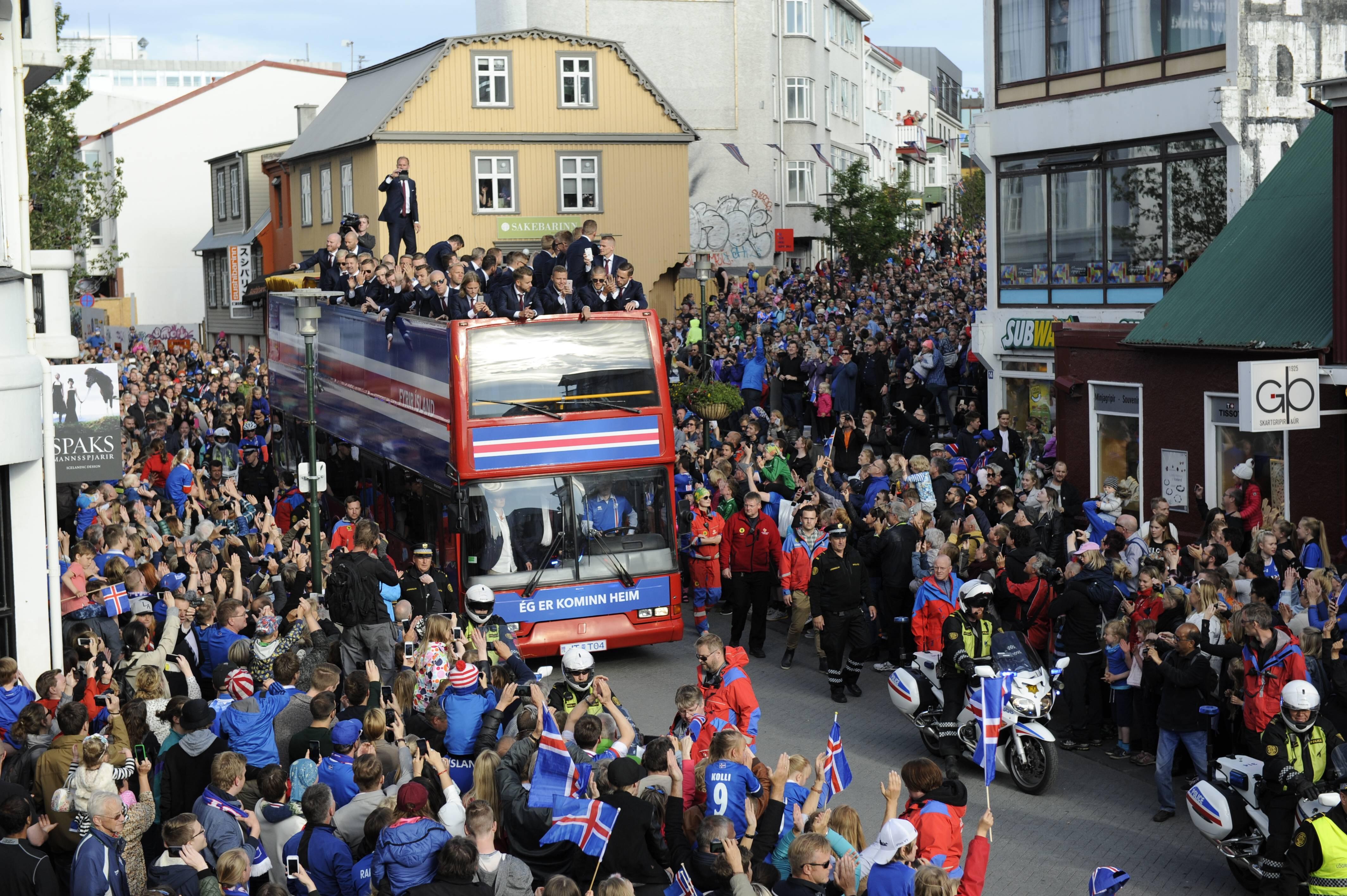 Football - Euro 2016 - Neuf mois après l'Euro 2016, une explosion des naissances en Islande