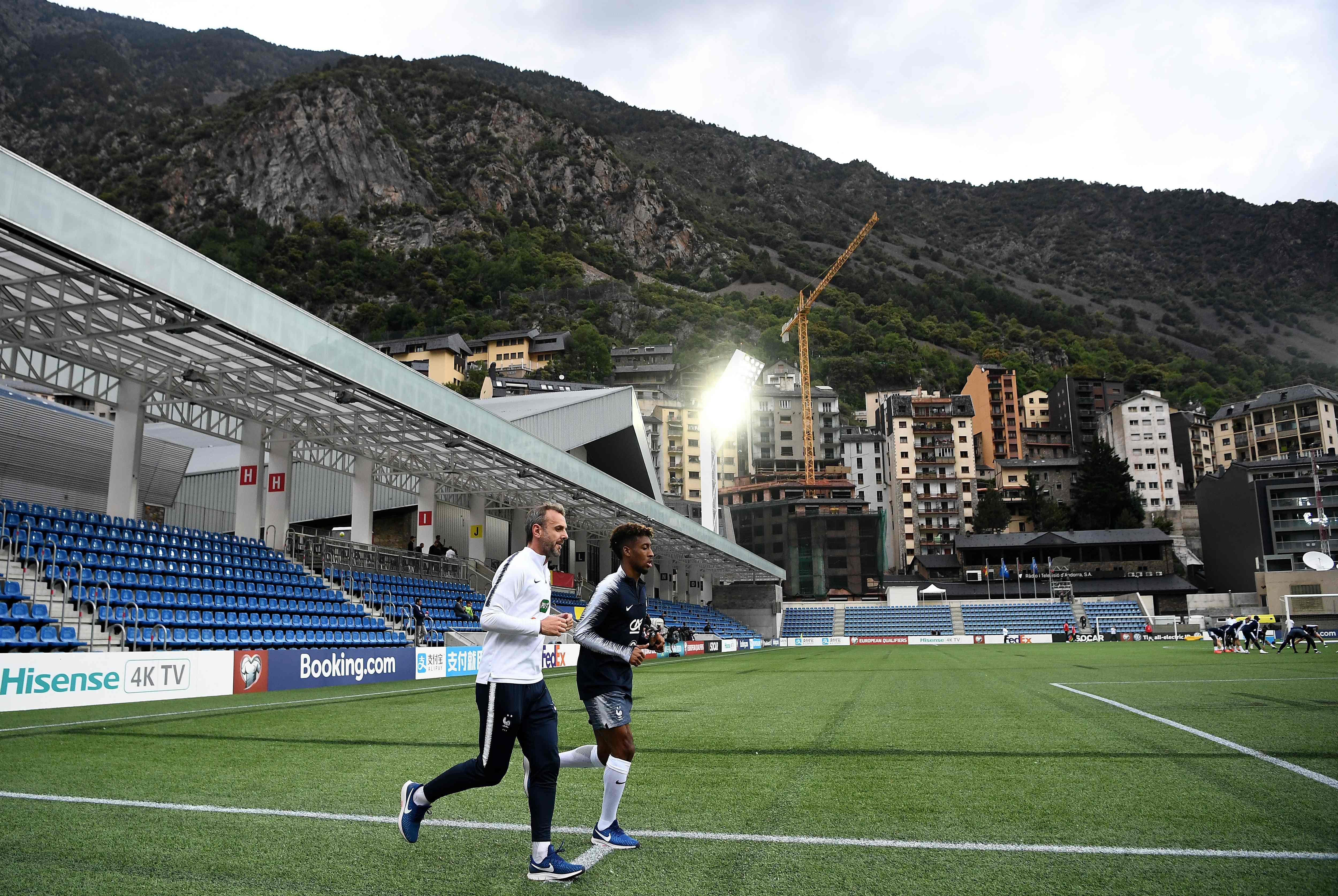 Football - Euro 2020 - Andorre, inédite terre de rachat pour les Bleus