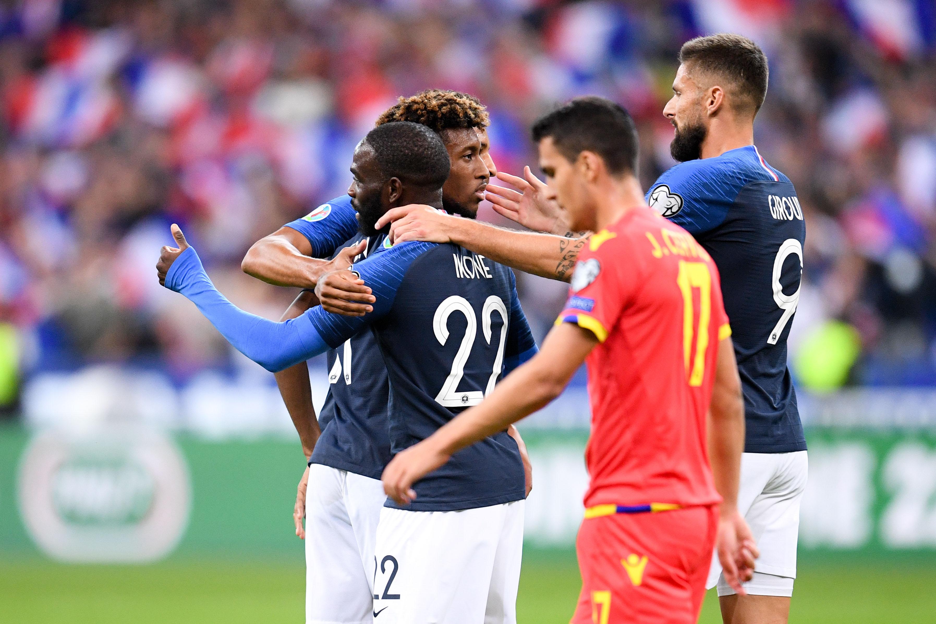 Football - Euro 2020 - Coman et Ikoné, nouveaux « casse-tête » de Deschamps