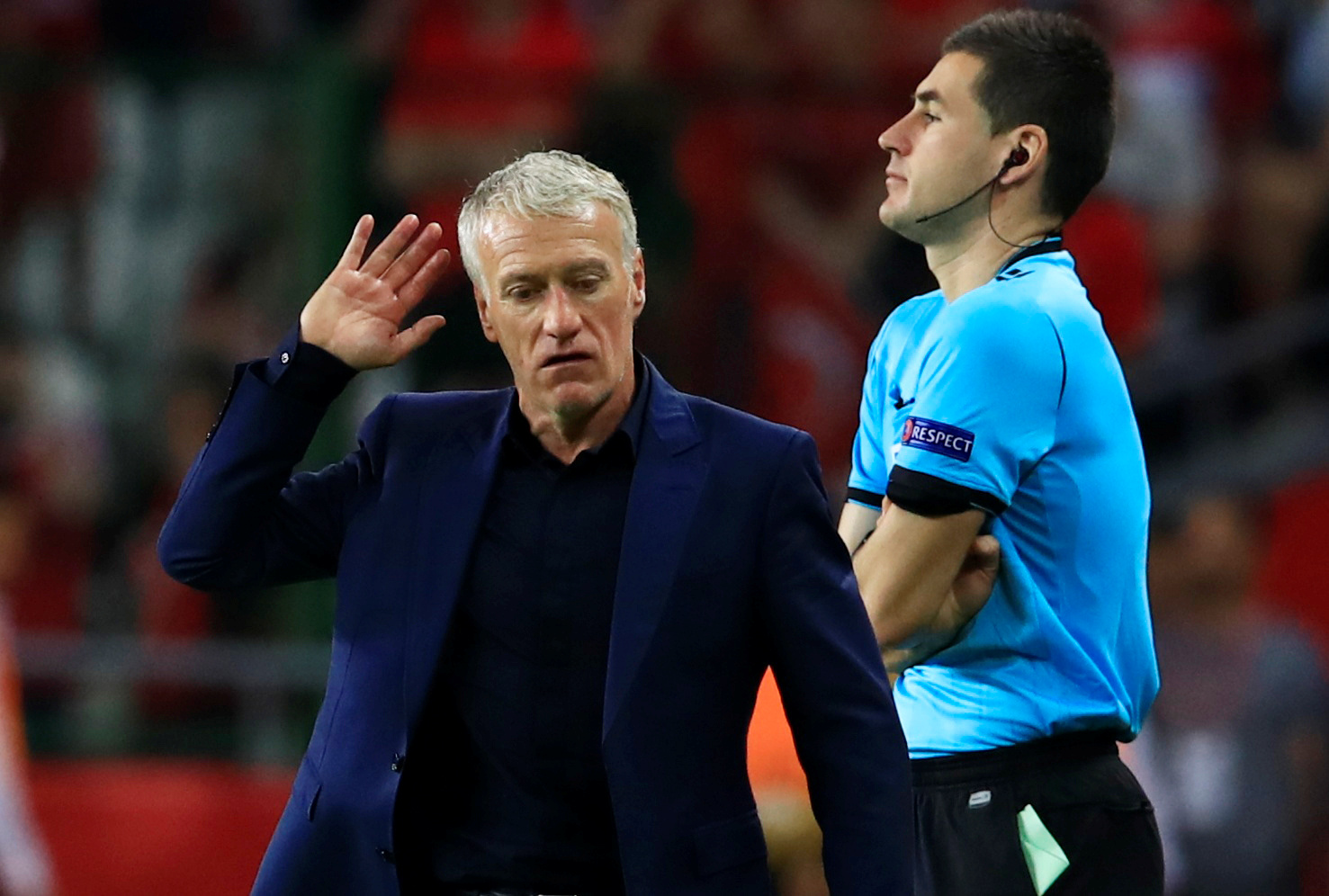 Football - Euro 2020 - Deschamps après la défaite en Turquie : «On a fait un non match»