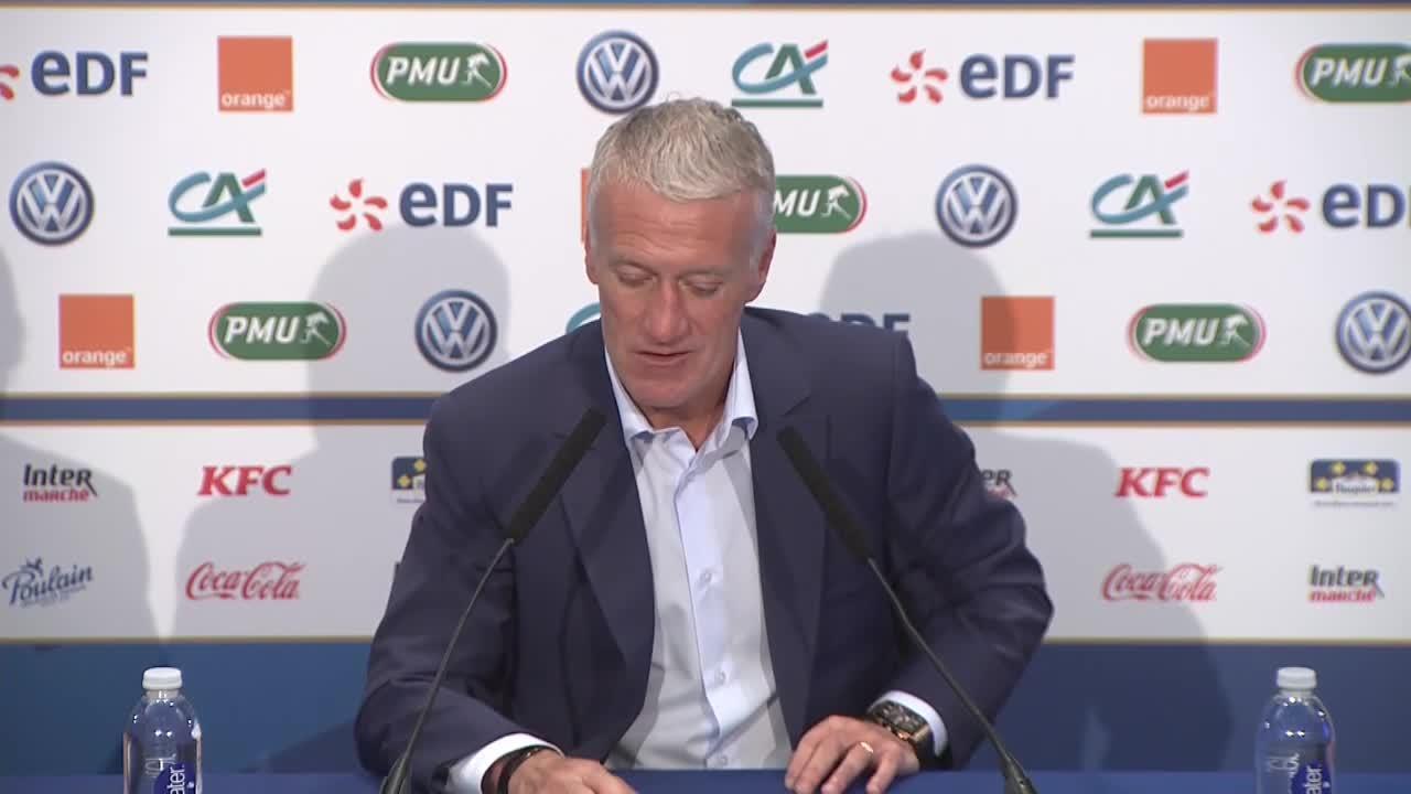 Football - Euro 2020 - Deschamps dit (gentiment) non à la Juventus: «Les Bleus, mon avenir proche»