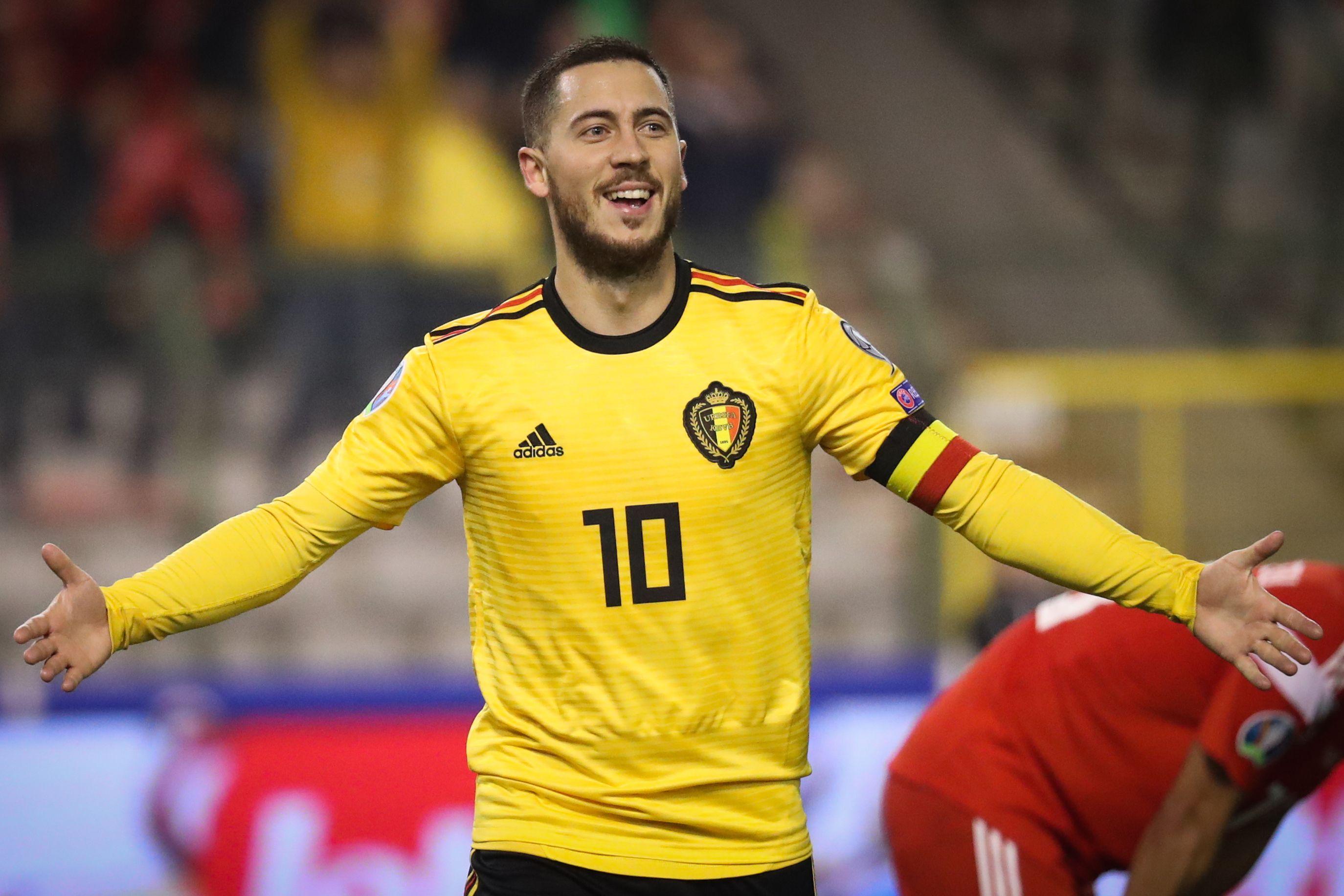 Football - Euro 2020 - Eden Hazard, 100 sélections en 5 dates