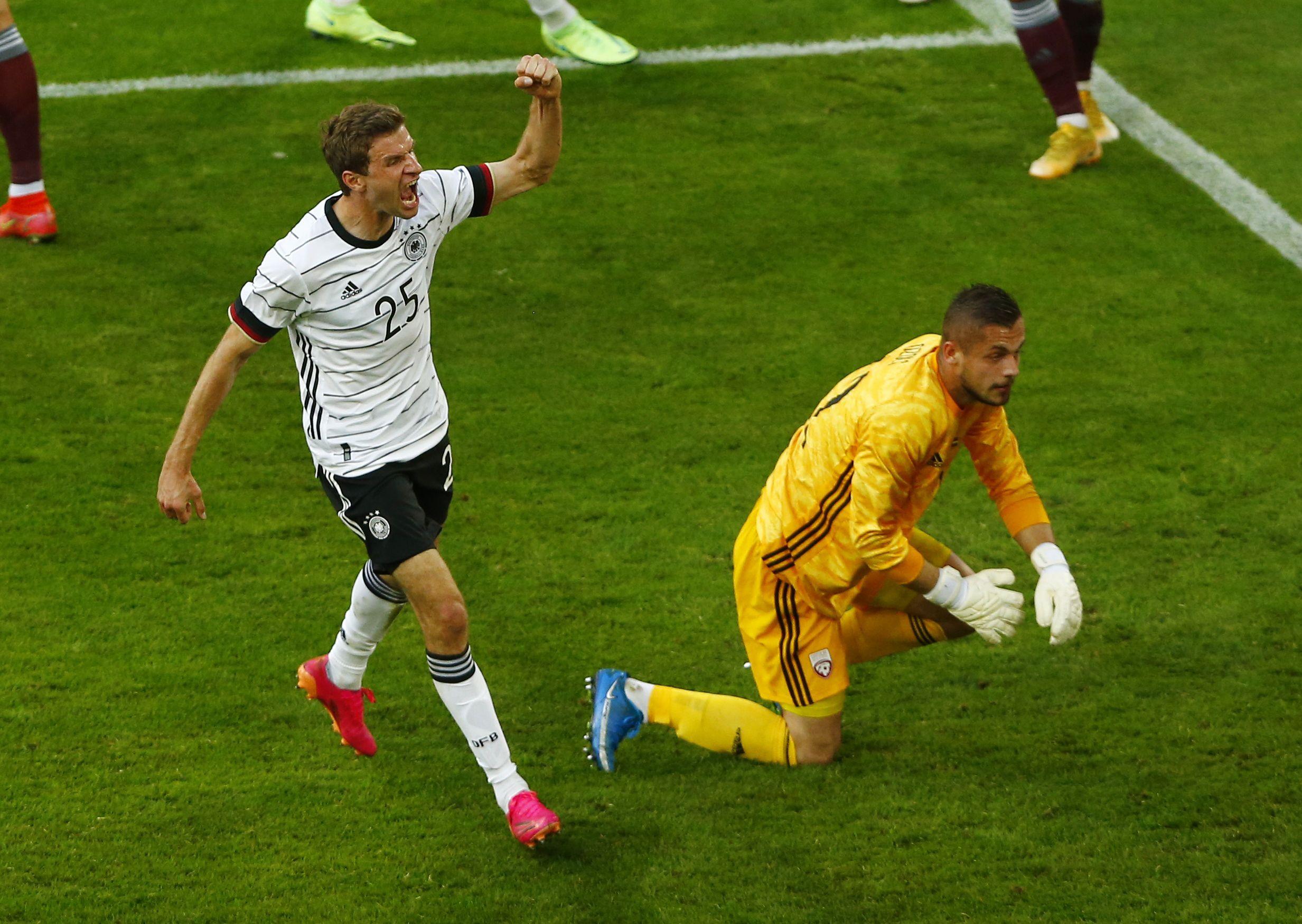 Football - Euro 2020 - Euro 2020 : à huit jours d'affronter les Bleus, les Allemands éparpillent la Lettonie façon puzzle