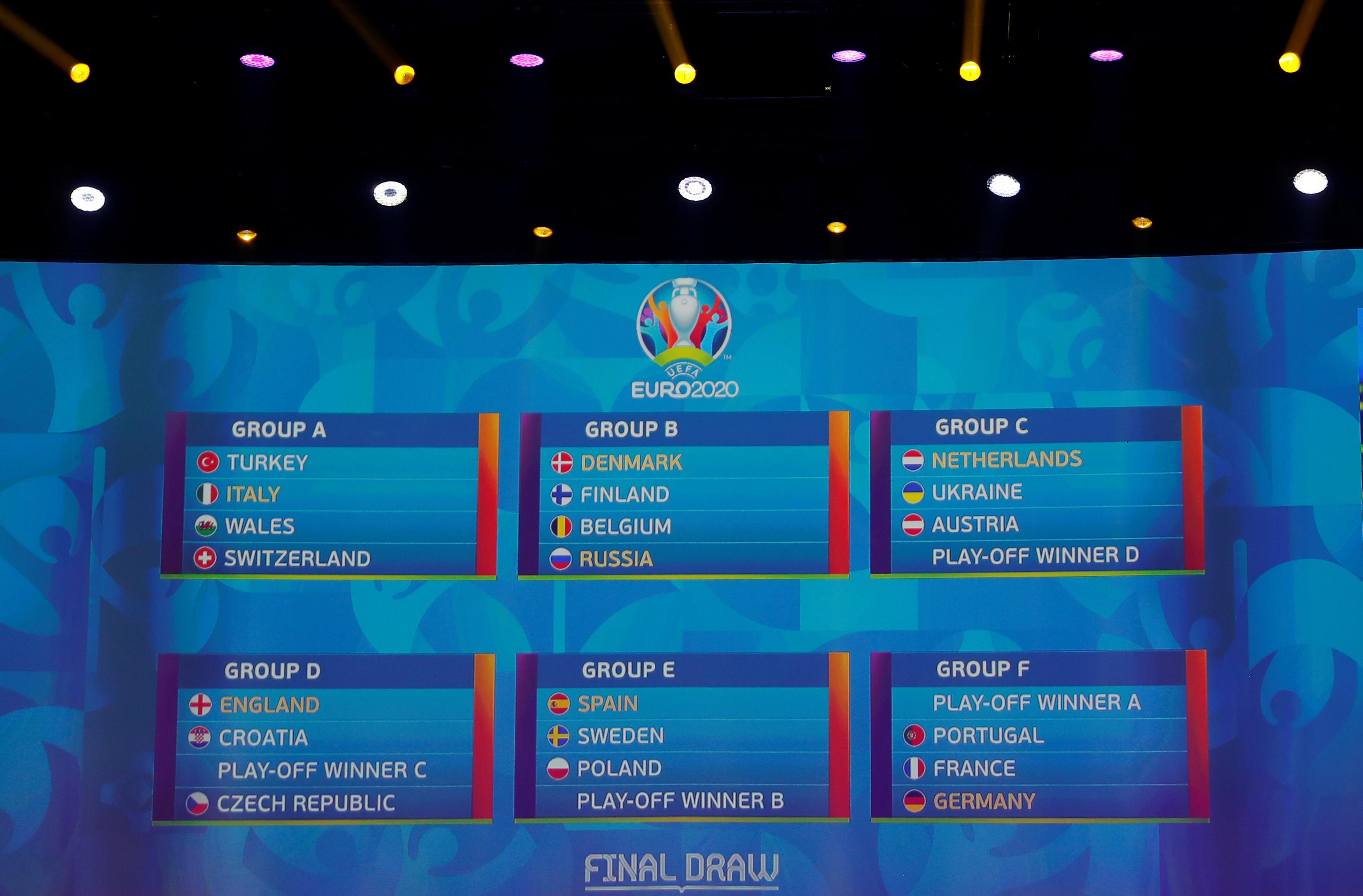 Euro 2020 Le Calendrier Complet Et Toutes Les Infos Euro