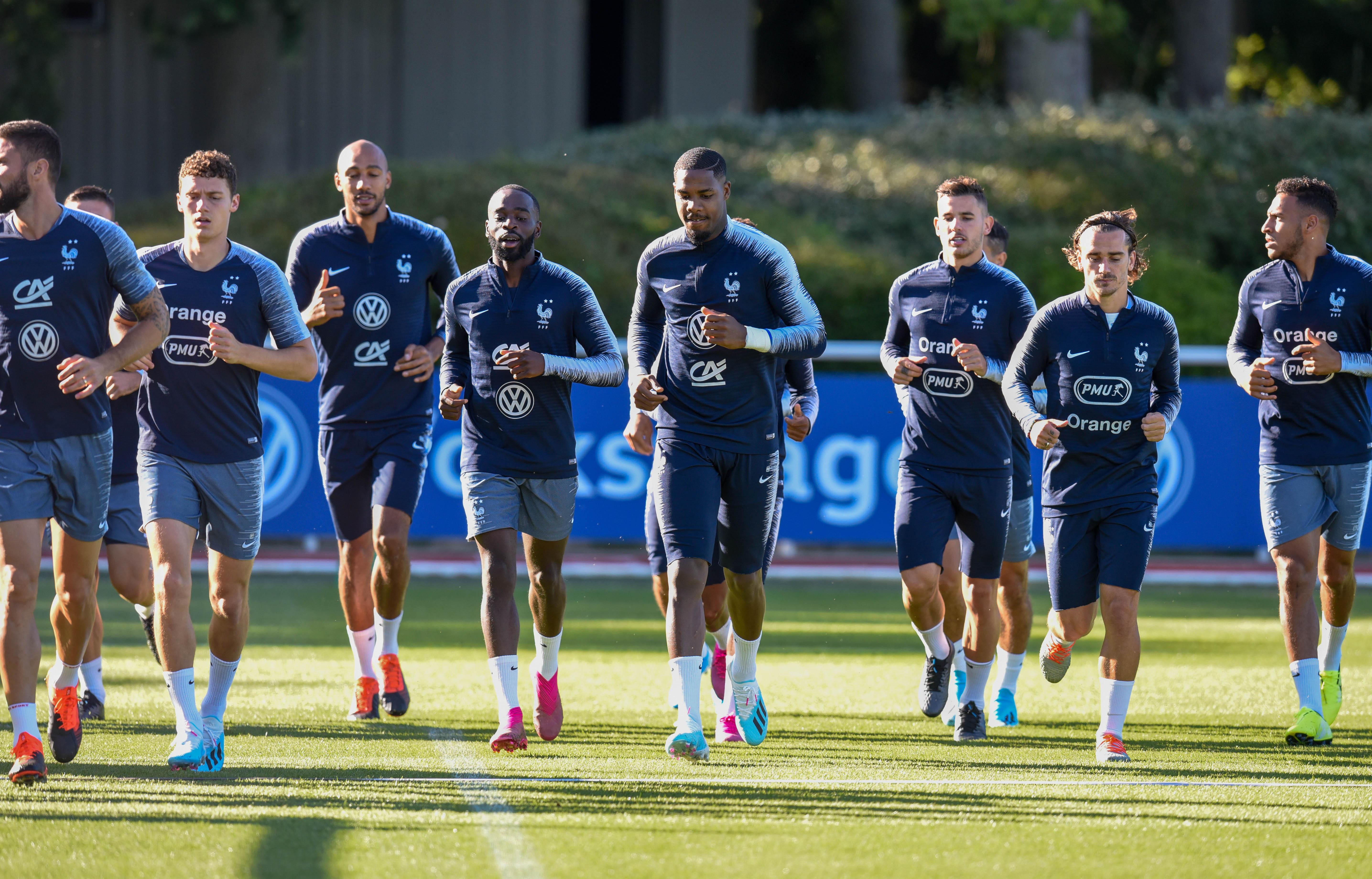 Football - Euro 2020 - France-Albanie: pour les Bleus, c'est aussi la rentrée
