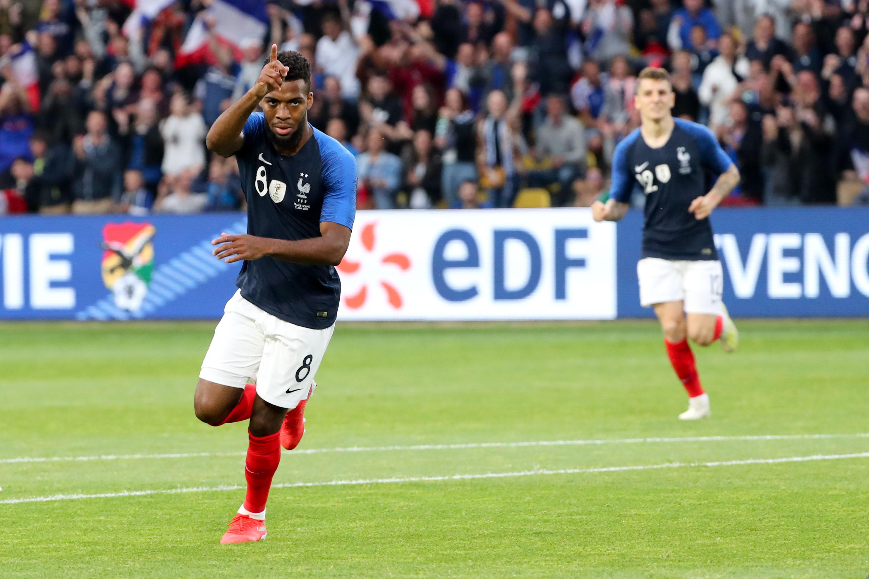 Football - Euro 2020 - L'inspiration de Lemar, le piqué de Griezmann : les buts des Bleus contre la Bolivie en vidéo