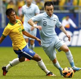 Une leçon face au Brésil