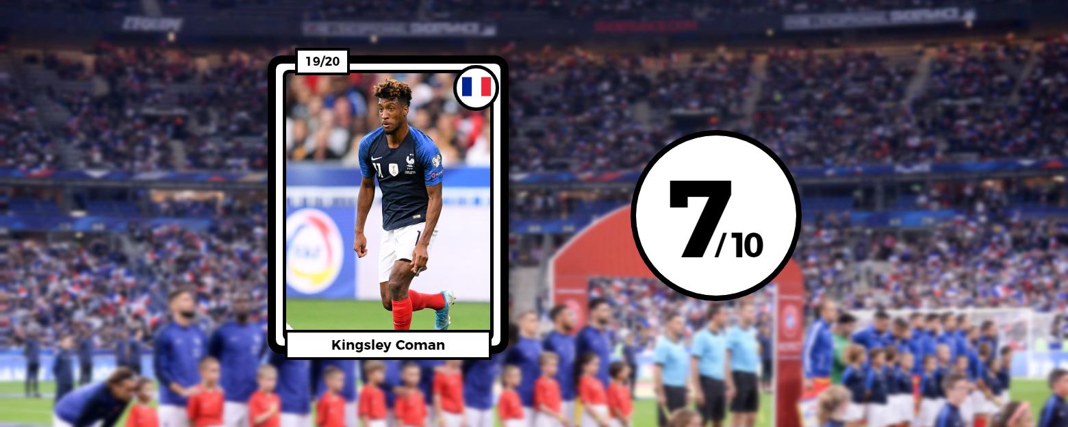 Football - Euro 2020 - Les notes des Bleus : Coman a tout cassé, Giroud (trop) discret