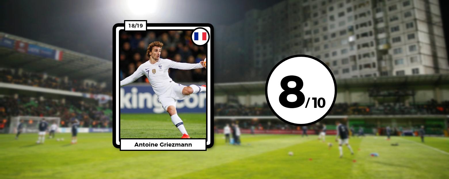 Football - Euro 2020 - Les notes des Bleus : Griezmann était au-dessus, Lloris s'est ennuyé