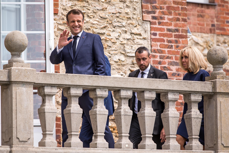 Football - Euro 2020 - Macron va encourager les Bleus avant l'Euro 2020