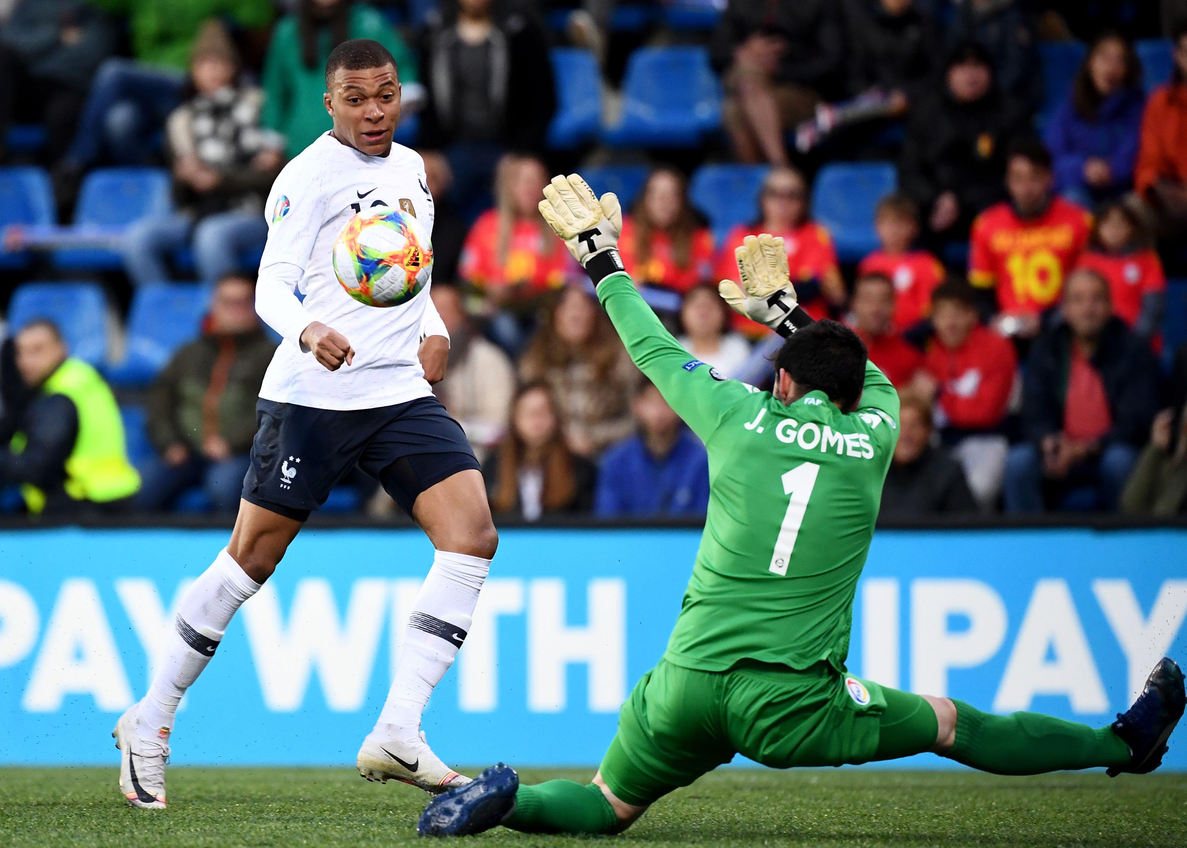 Football - Euro 2020 - Mbappé a inscrit le 100e but de sa carrière contre Andorre
