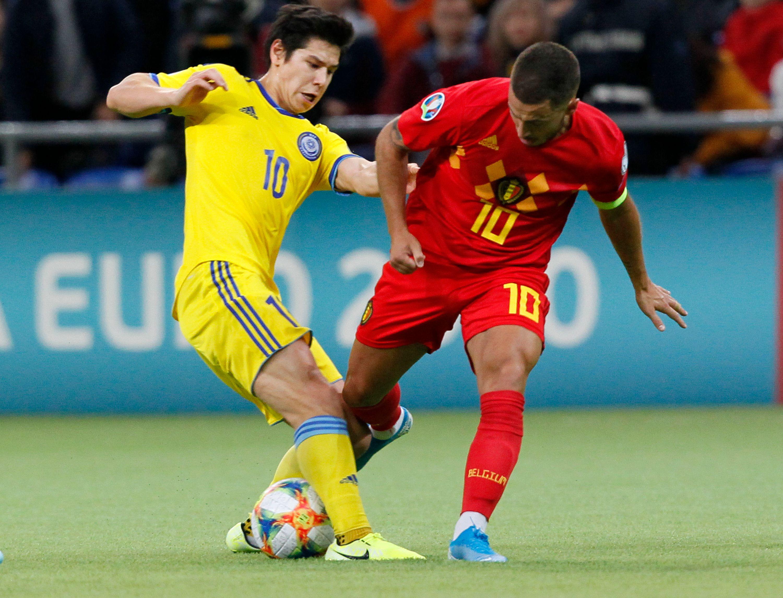 Football - Euro 2020 - La Belgique déroule face au Kazakhstan