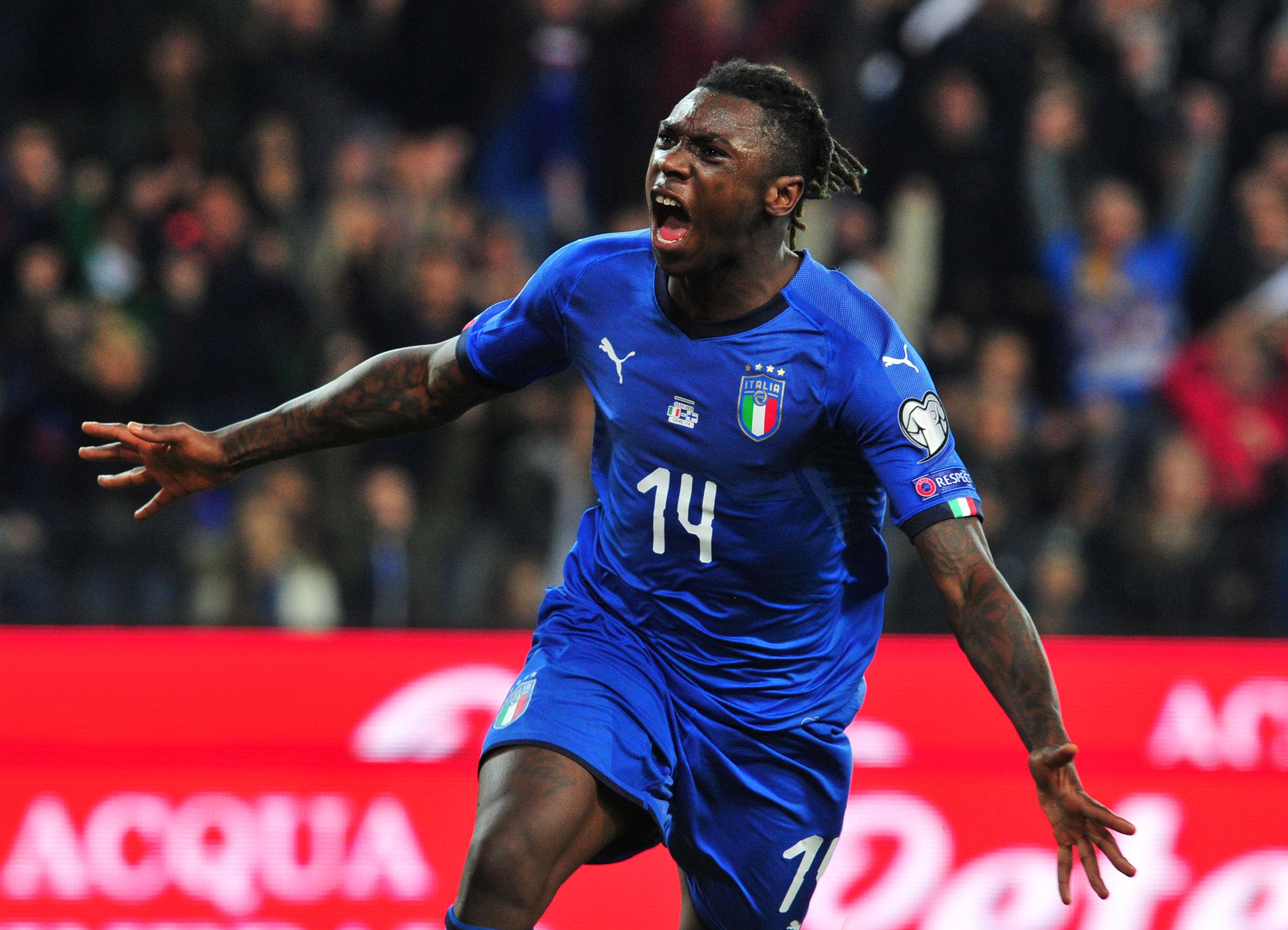 Football - Euro 2020 - Qui est Moise Kean, l'attaquant italien comparé à Balotelli par son sélectionneur ?