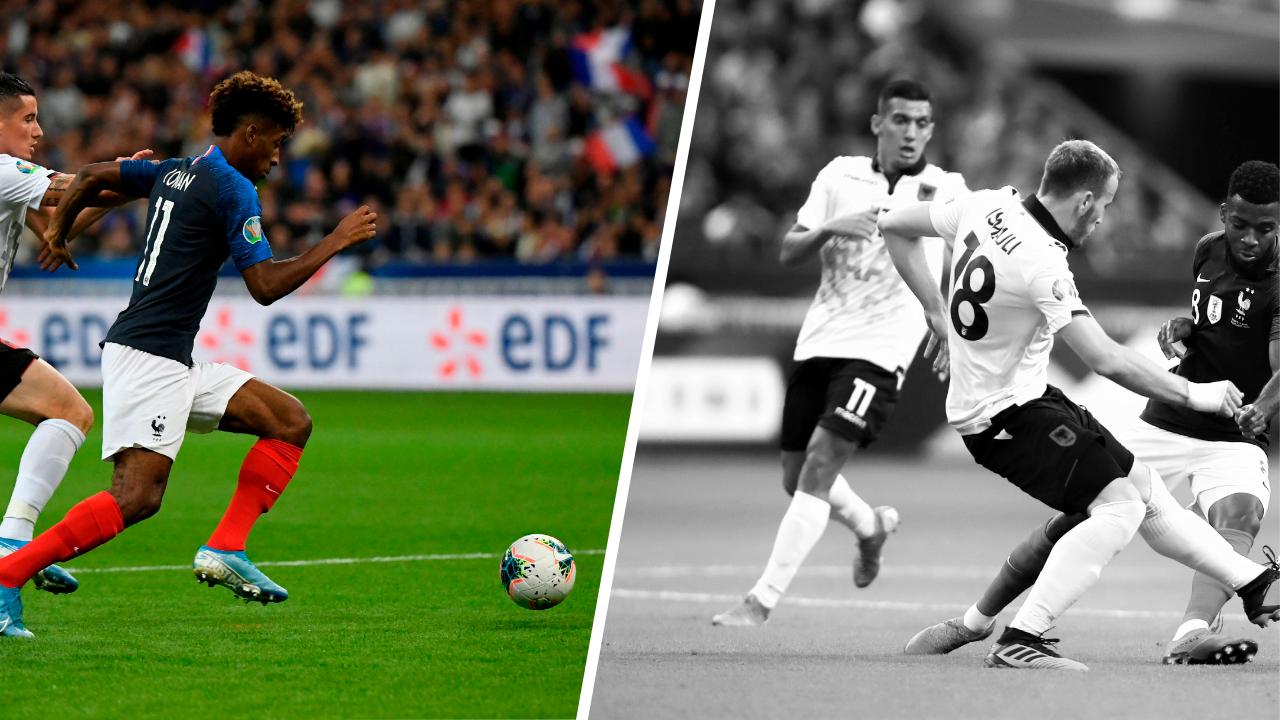 Football - Euro 2020 - Tops/flops France-Albanie : Coman le détonateur, le calvaire des Albanais