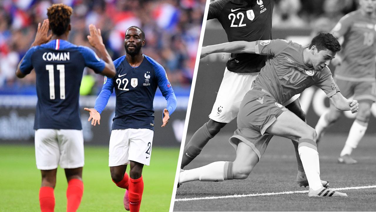 Football - Euro 2020 - Tops/Flops France-Andorre : Le duo Coman-Ikoné donne des ailes, Andorre sans ressort