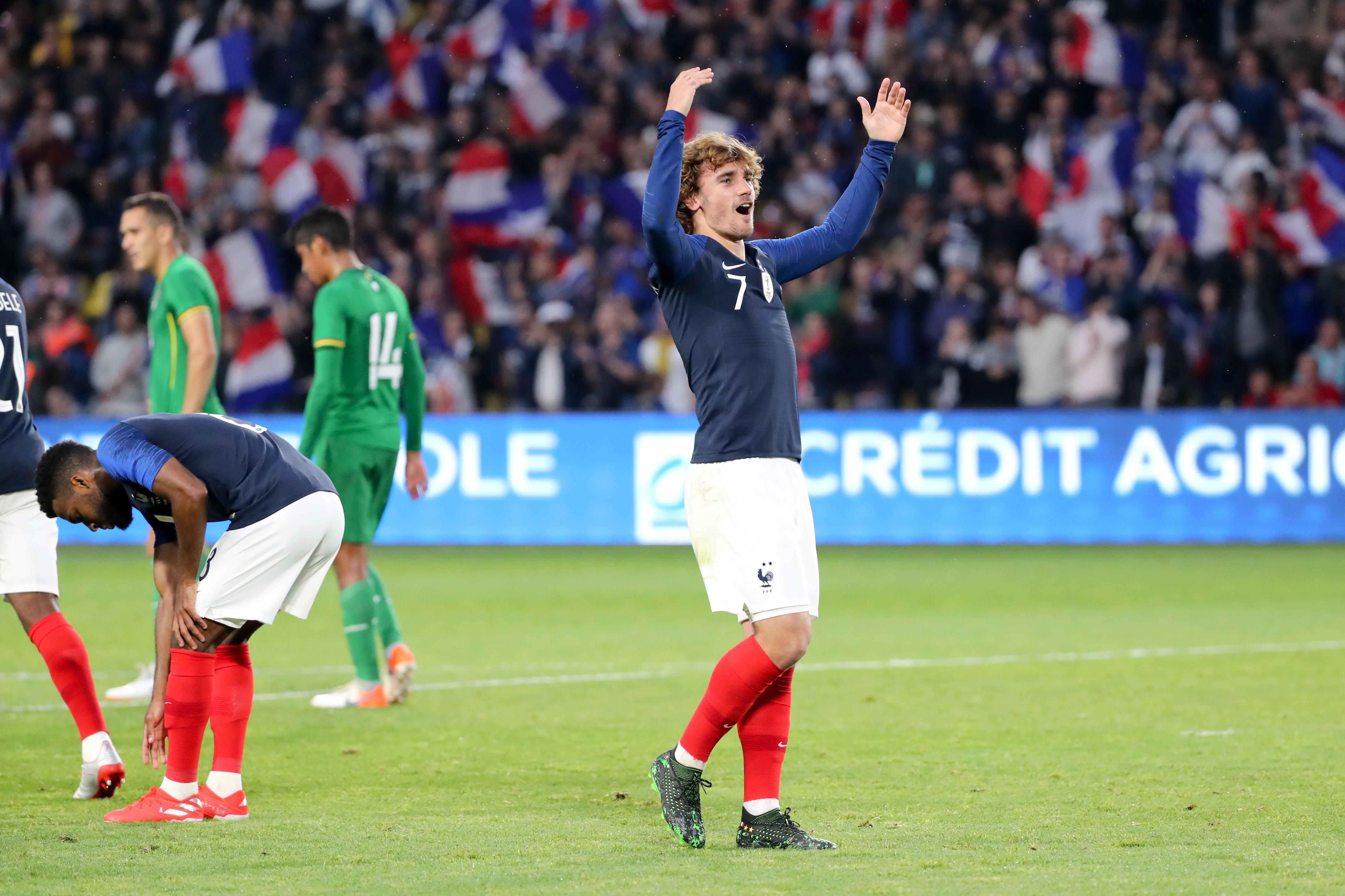 Football - Euro 2020 - Tops/Flops France-Bolivie : Griezmann le taulier, les Boliviens transpercés sur les côtés