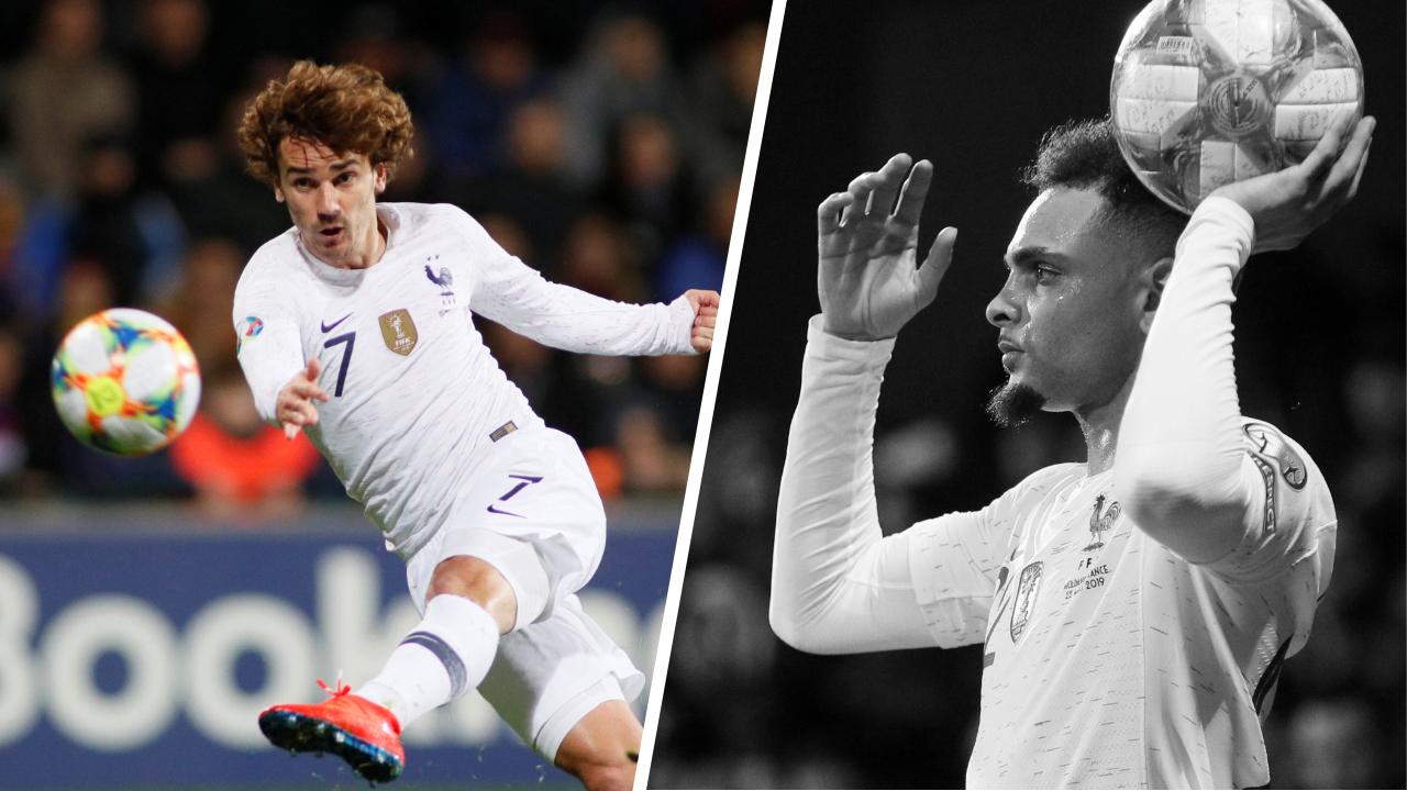 Football - Euro 2020 - Tops/Flops Moldavie-France : Griezmann le patron, des latéraux trop brouillons