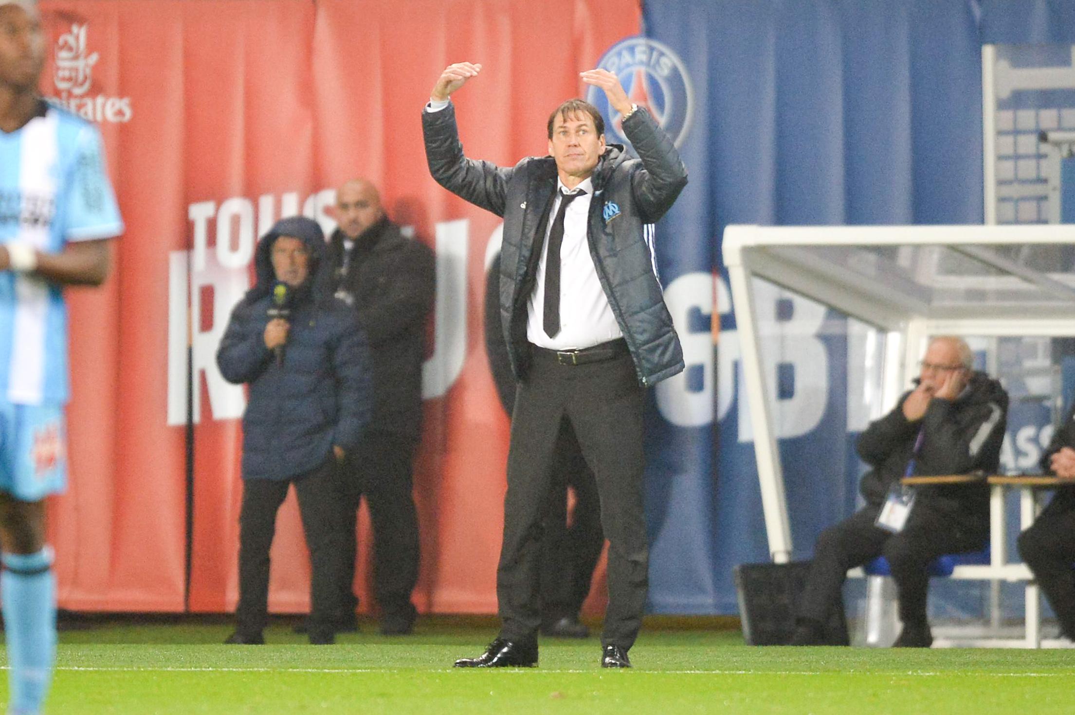 Football - Ligue 1 - «Abnégation», «entraide», «courage» : les mots de Rudi Garcia après PSG-OM