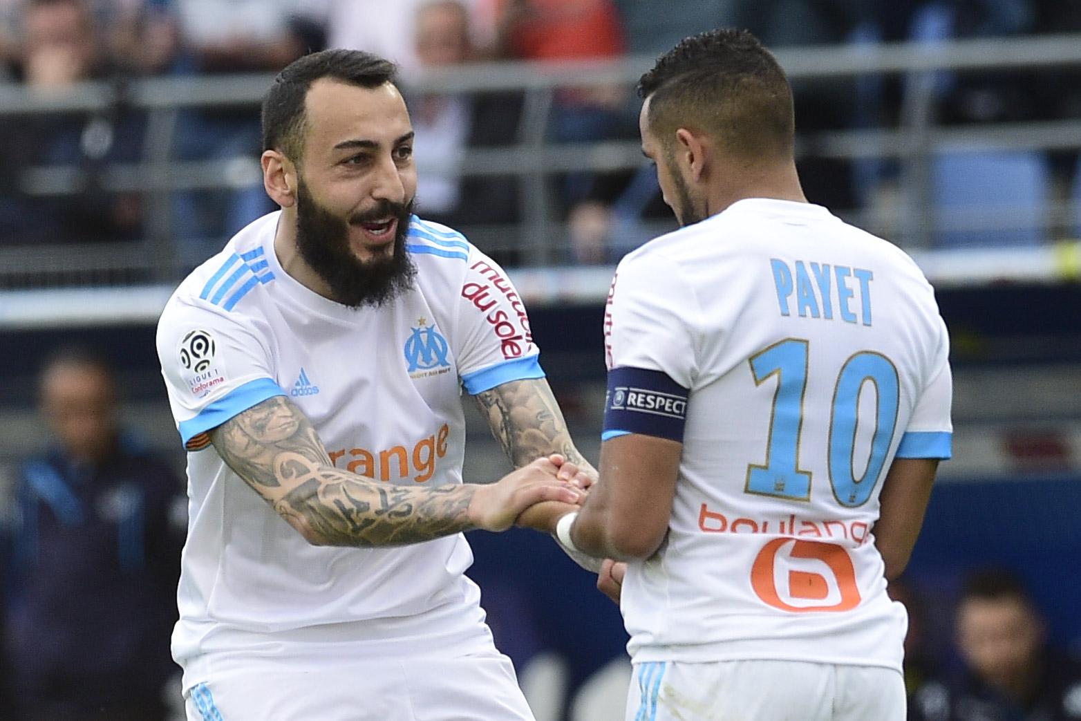Football - Ligue 1 - Amicaux : Mitroglou porte l'OM, Bordeaux stoppe les Verts