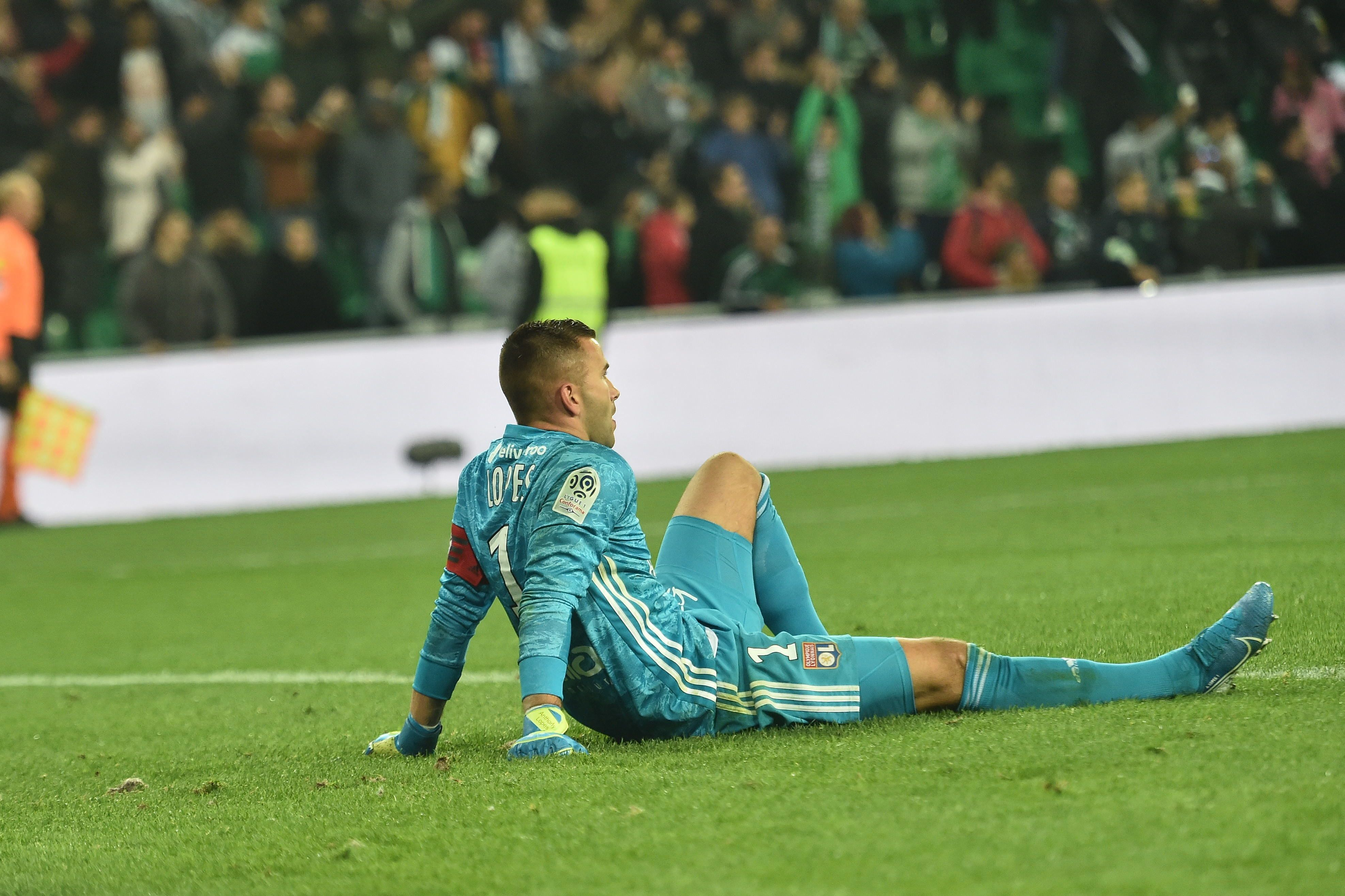 Football - Ligue 1 - Anthony Lopes : «On ne lâchera pas le coach»