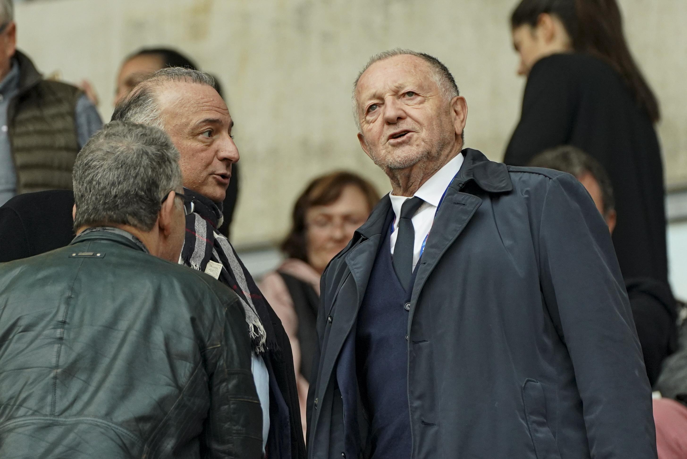 Football - Ligue 1 - Arrêt de la L1 : Aulas demande au Premier ministre et à la ministre des Sports de revenir sur la décision de la LFP