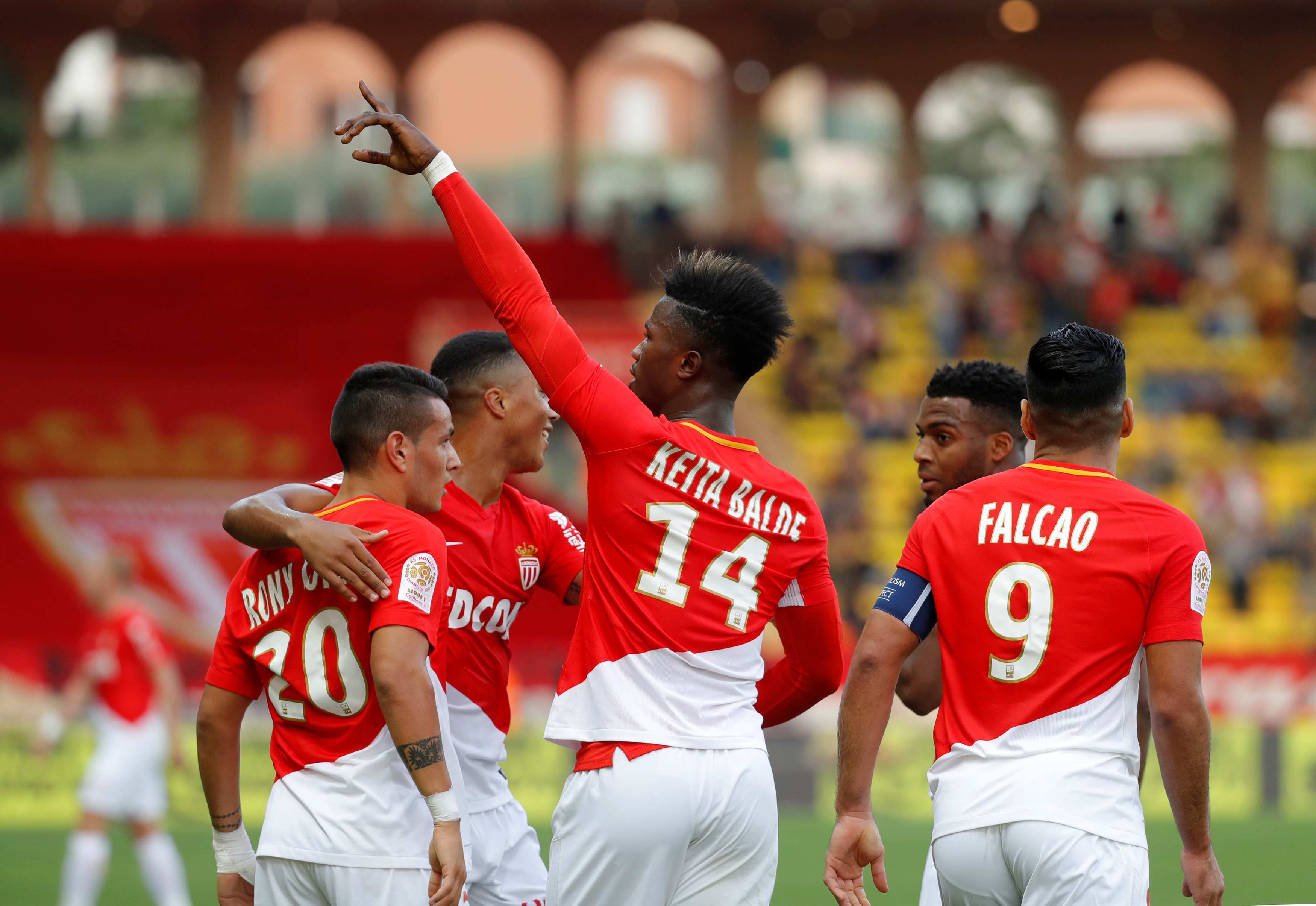 Football - Ligue 1 - Avec un Keita Baldé enfin lancé, Monaco retrouve de son éclat