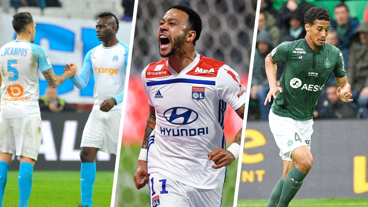 Football - Ligue 1 - Balotelli-Ocampos, Depay, Saliba : les stats à connaître avant la 35e journée de Ligue 1