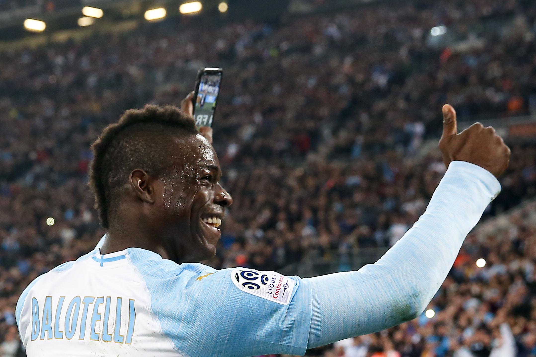 Football - Ligue 1 - Balotelli réclame que la célébration de son but face à Saint-Etienne soit sur le jeu FIFA