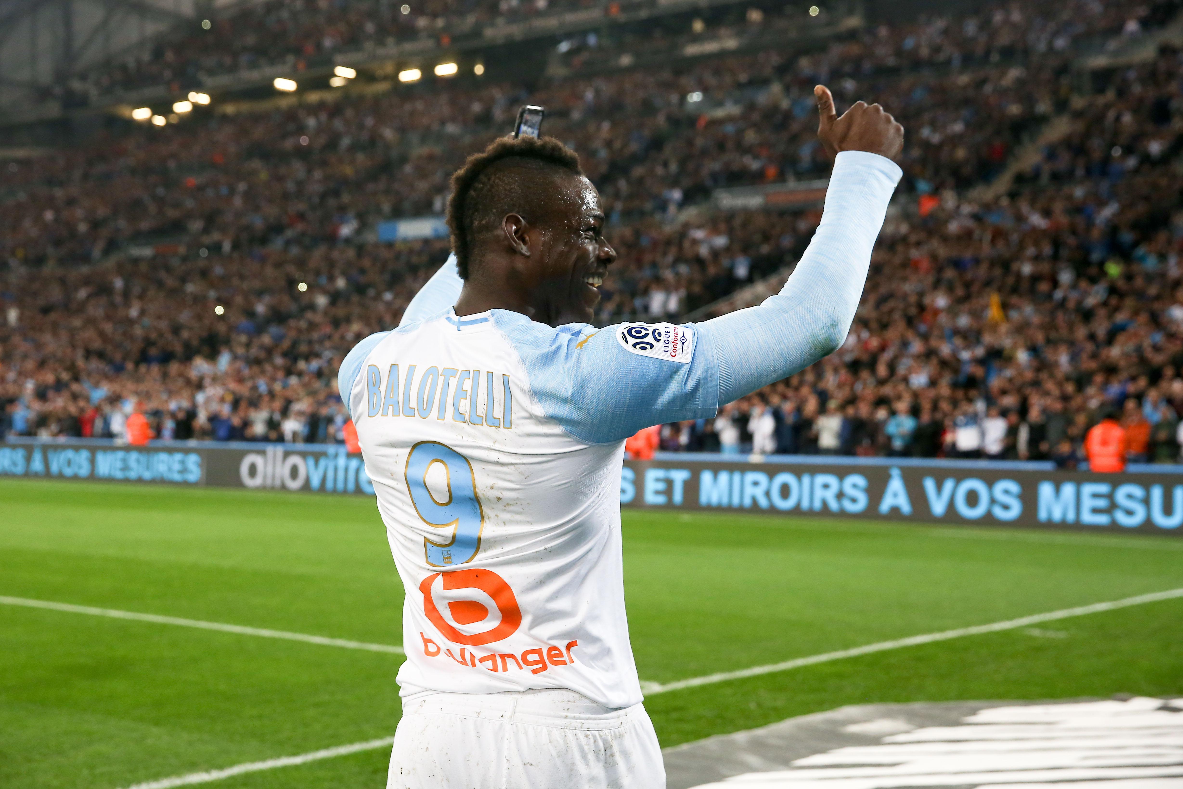 Football - Ligue 1 - Balotelli sur le PSG : «Il y a des joueurs très forts, mais pas une équipe très forte»