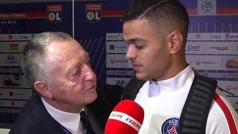 Football - Ligue 1 - Blog BRP - Quand Aulas fait la leçon à Emery sur le cas Ben Arfa au PSG