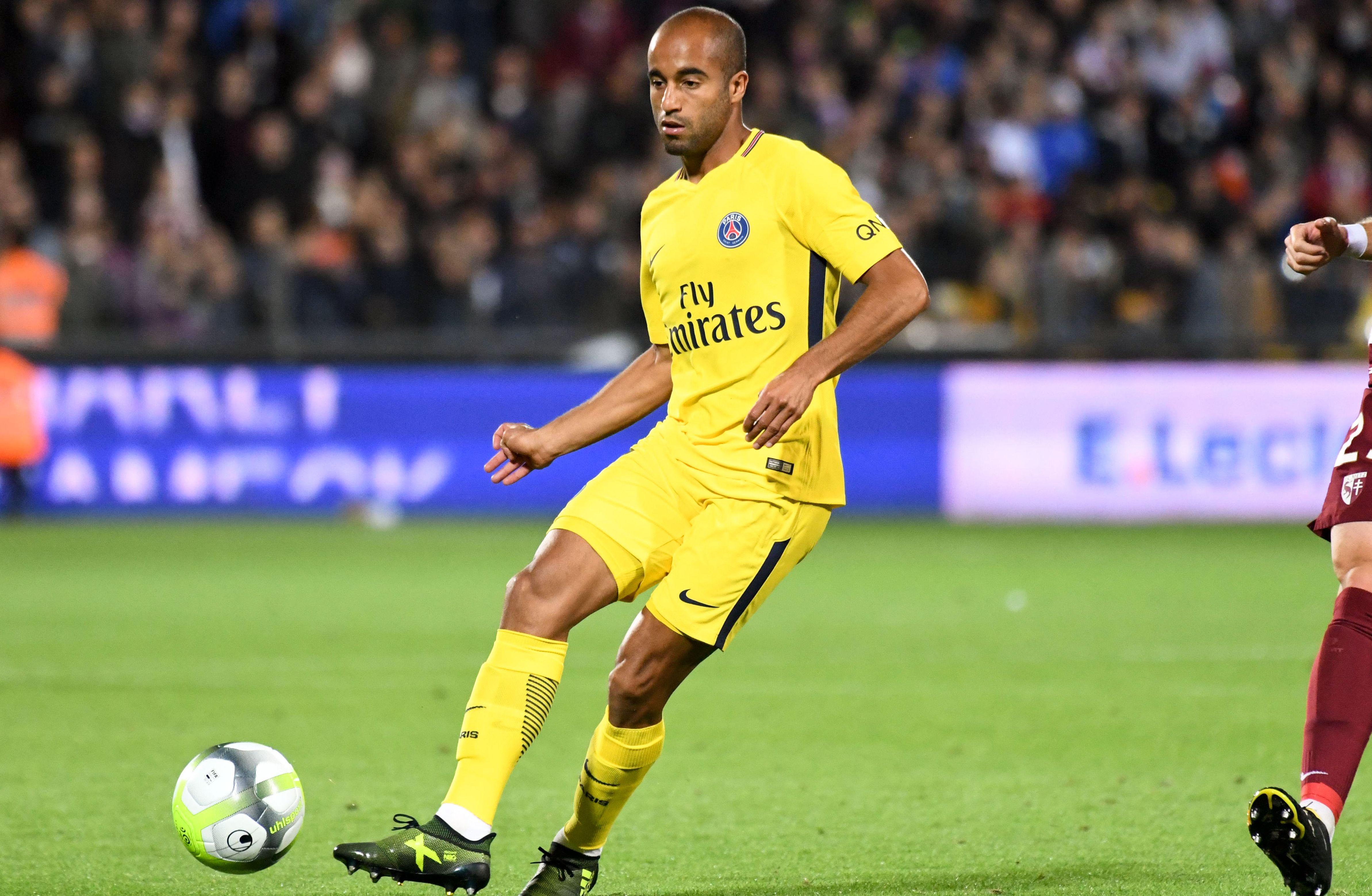 Football - Ligue 1 - Boudé par Emery, Lucas pense qu'il a encore «un avenir au PSG»