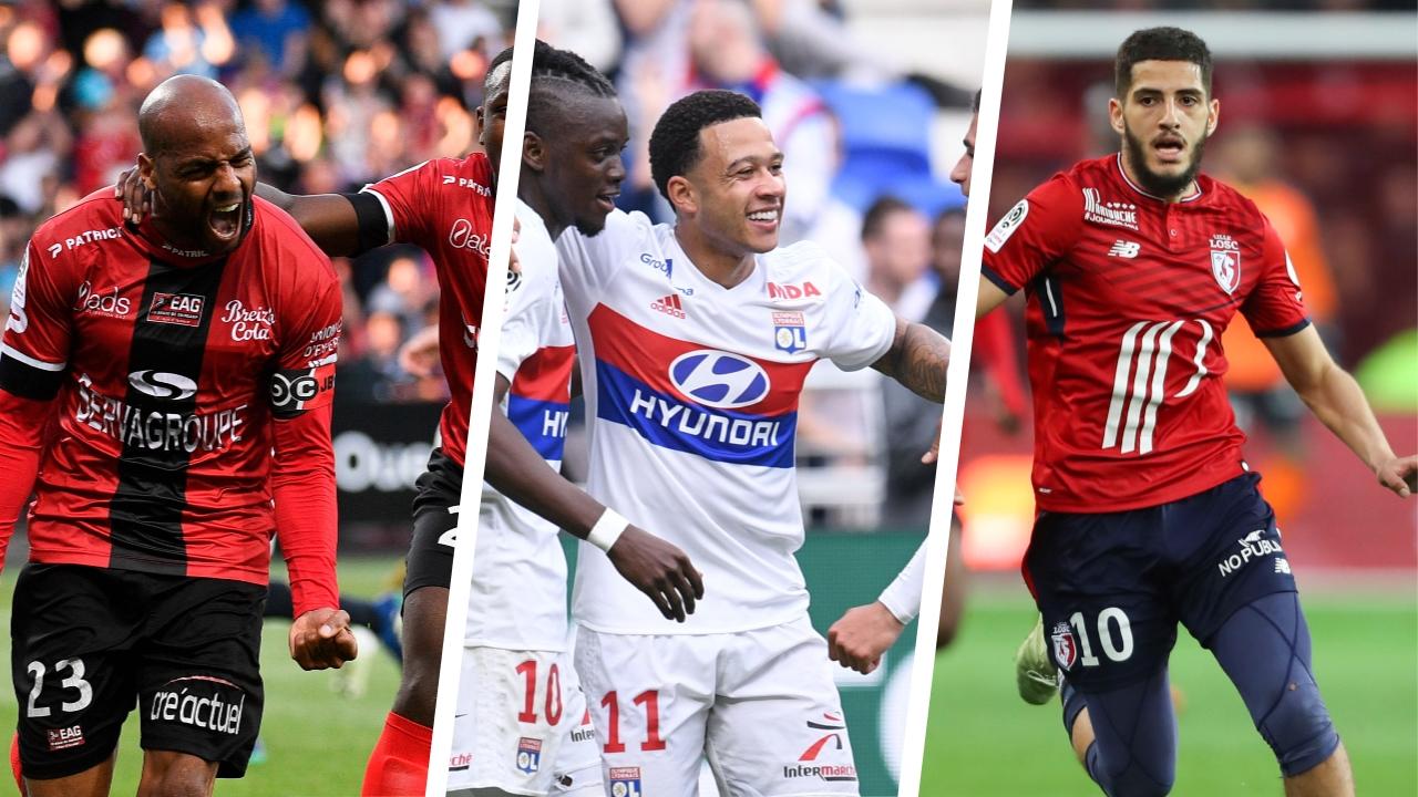 Football - Ligue 1 - Briand, Lyon, Lille : les stats à connaitre avant la 36e journée de L1