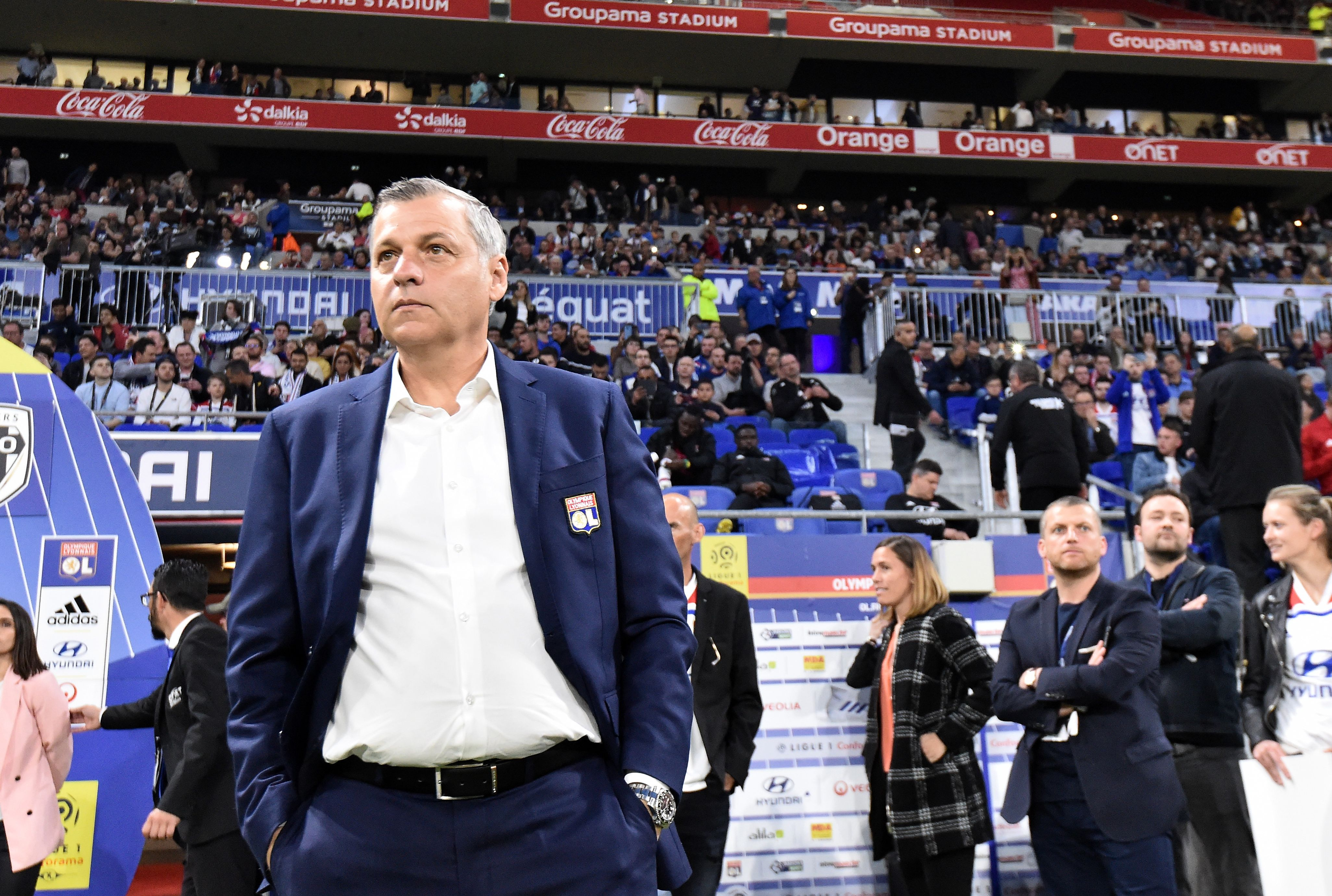 Football - Ligue 1 - Bruno Genesio, futur directeur technique de l'OL ?