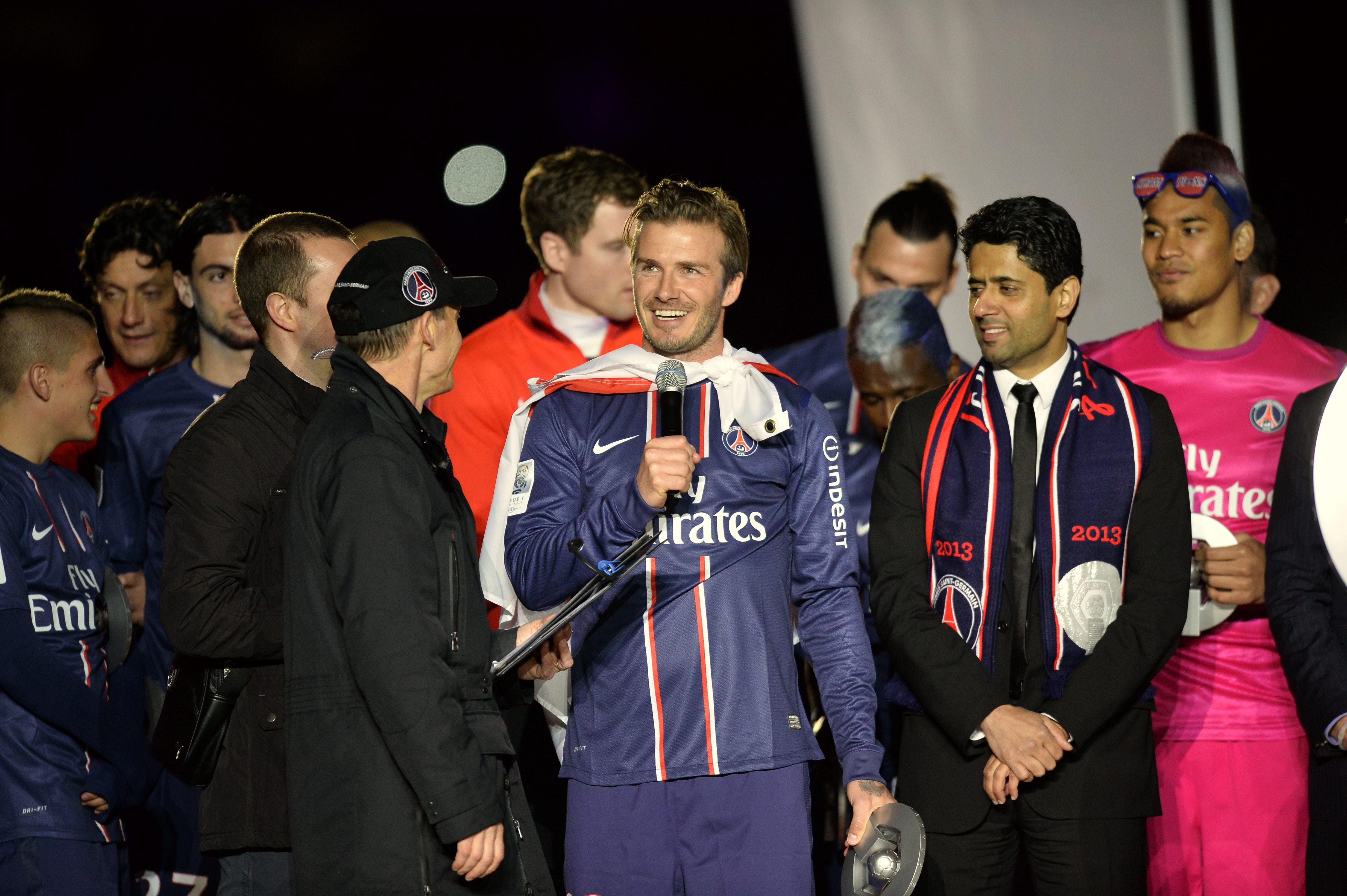 Football - Ligue 1 - C'était un 18 mai : le dernier match de la carrière de Beckham avec le PSG