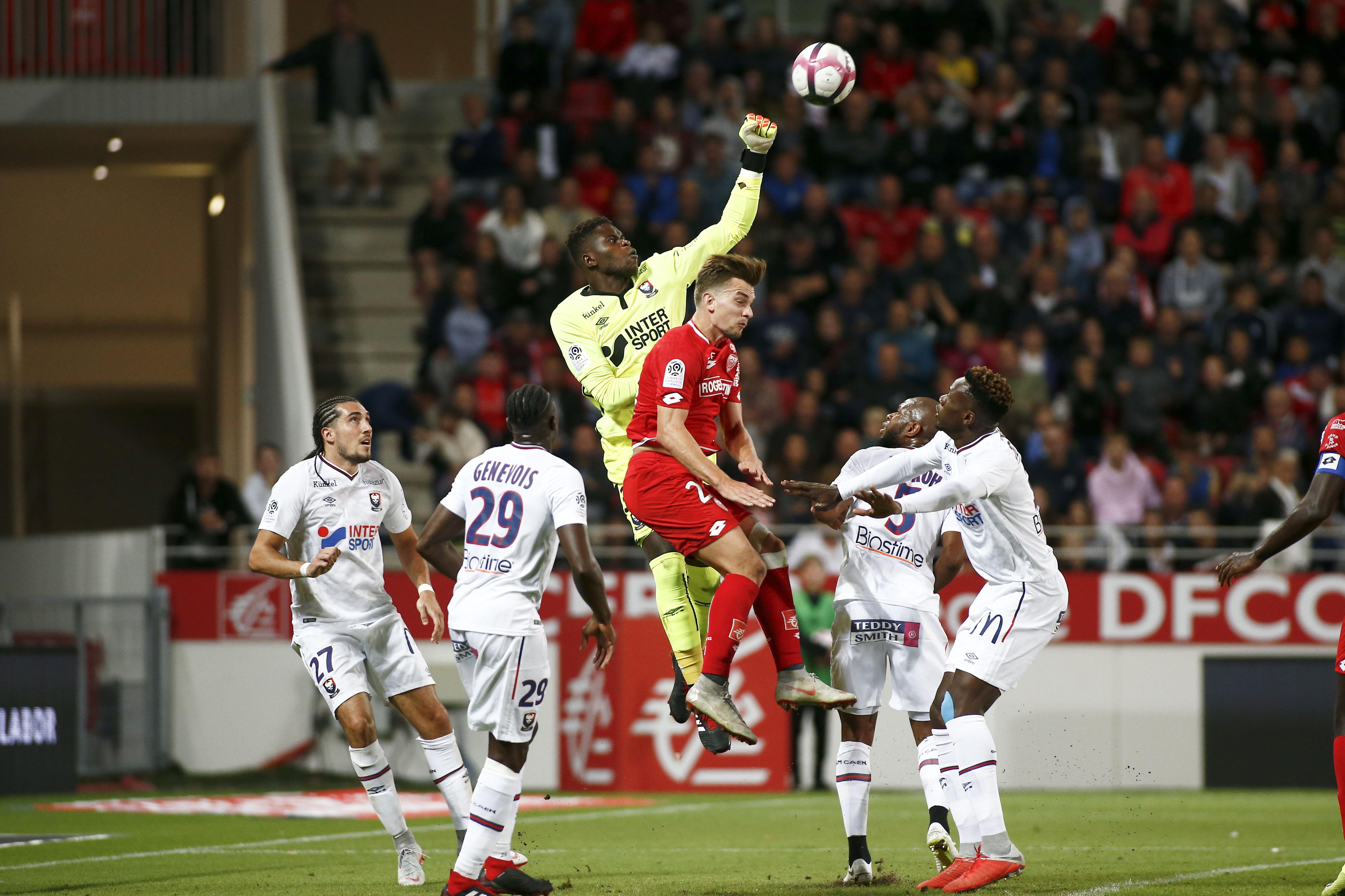 Football - Ligue 1 - Caen-Dijon, match de la peur ou du fol espoir ?
