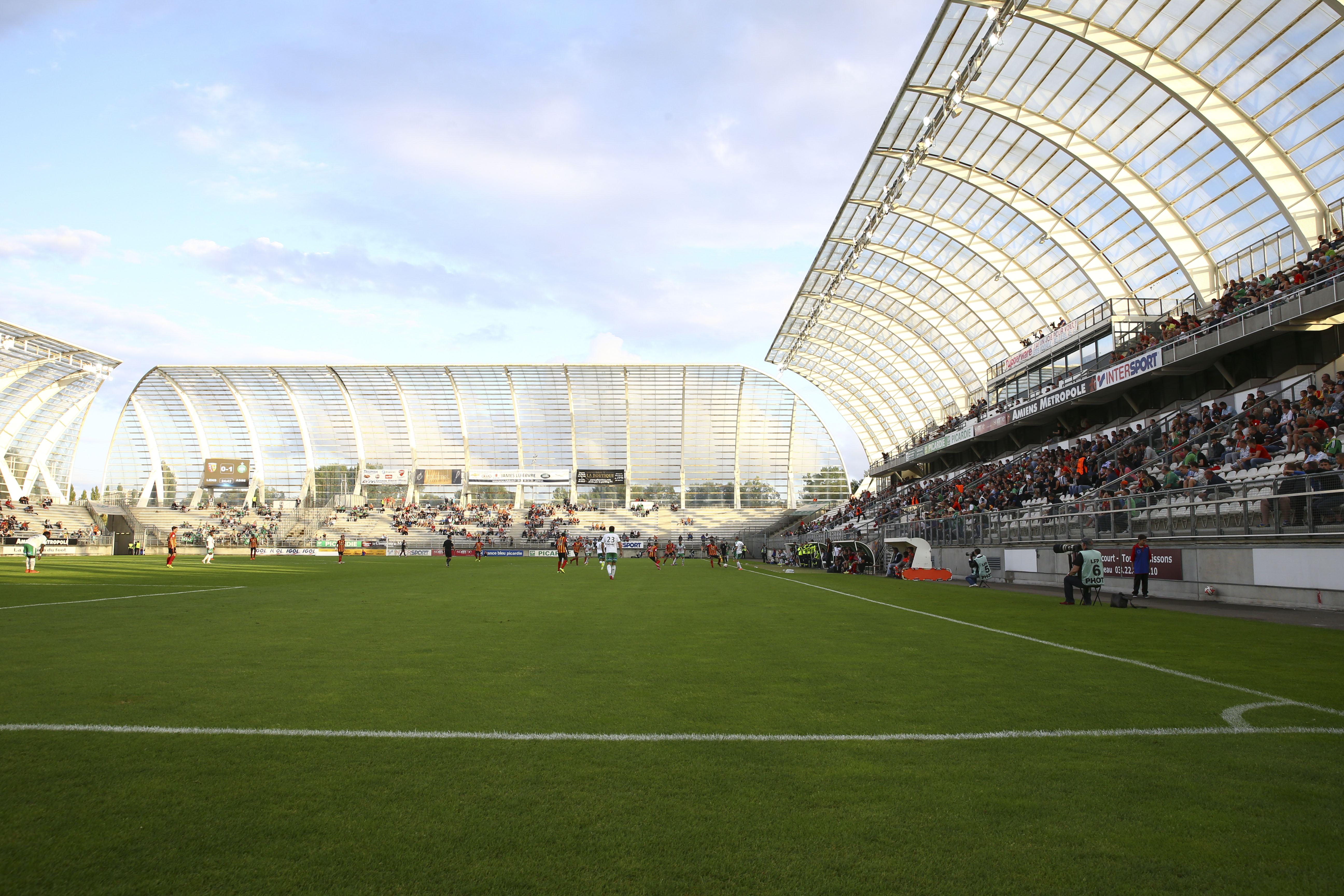 Football - Ligue 1 - Contre Monaco, Amiens retrouve le Stade de la Licorne avec «soulagement»