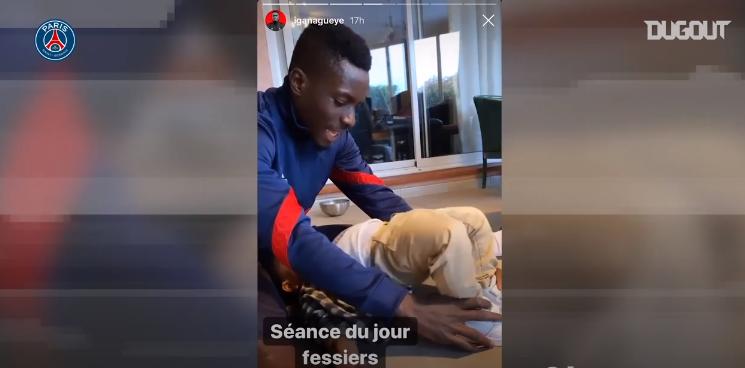 Football - Ligue 1 - Coronavirus : entre sport et famille, les joueurs du PSG s'occupent chez eux