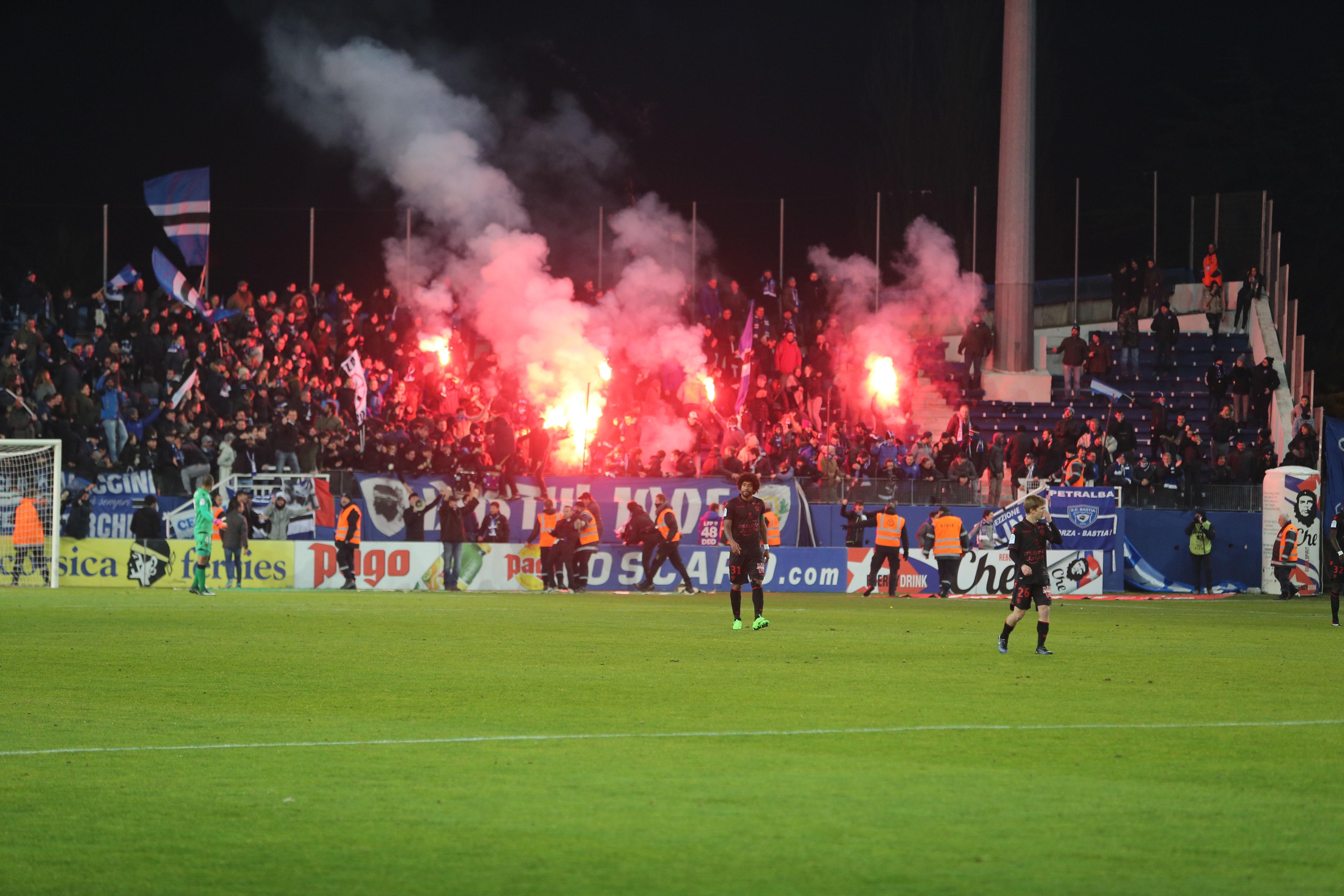 Football - Ligue 1 - Cris de singe à Bastia : l'OGC Nice «scandalisé», la LFP pourrait sévir