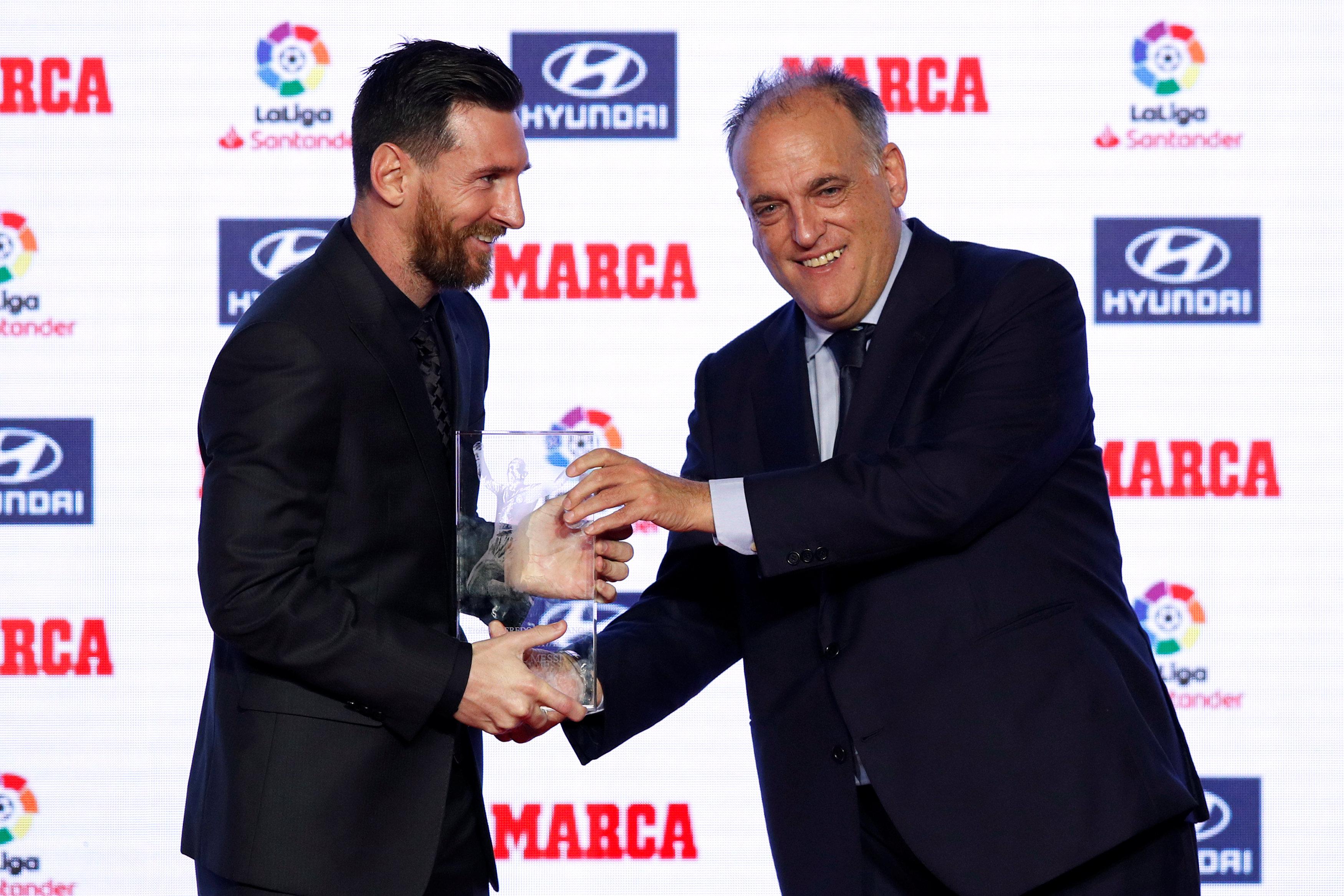 Football - Ligue 1 - Critique envers le PSG, Tebas ne veut pas d'un retour de Neymar au Barça