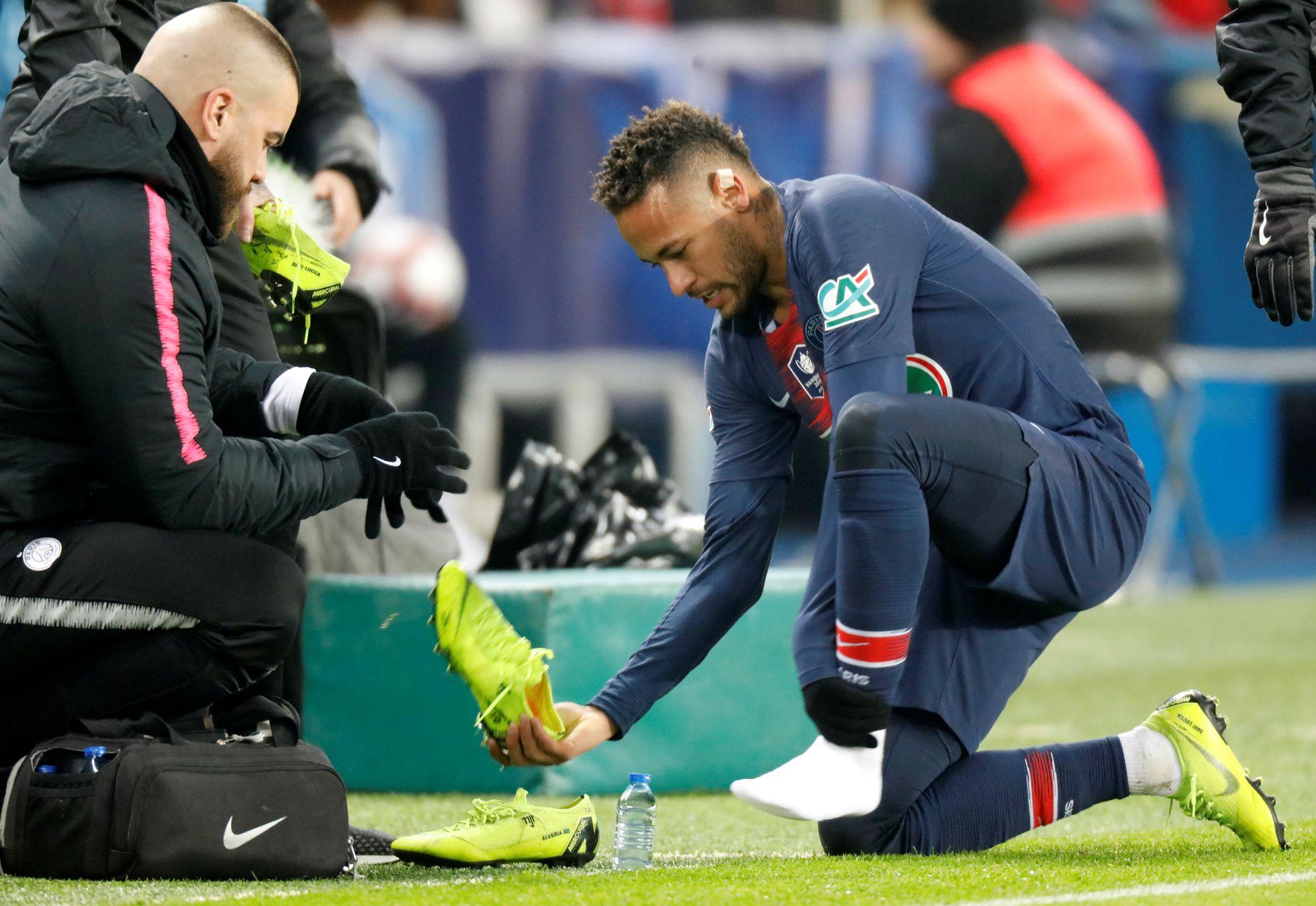 Football - Ligue 1 - De retour à Paris, Neymar « ne ressent plus de douleurs » selon son entourage